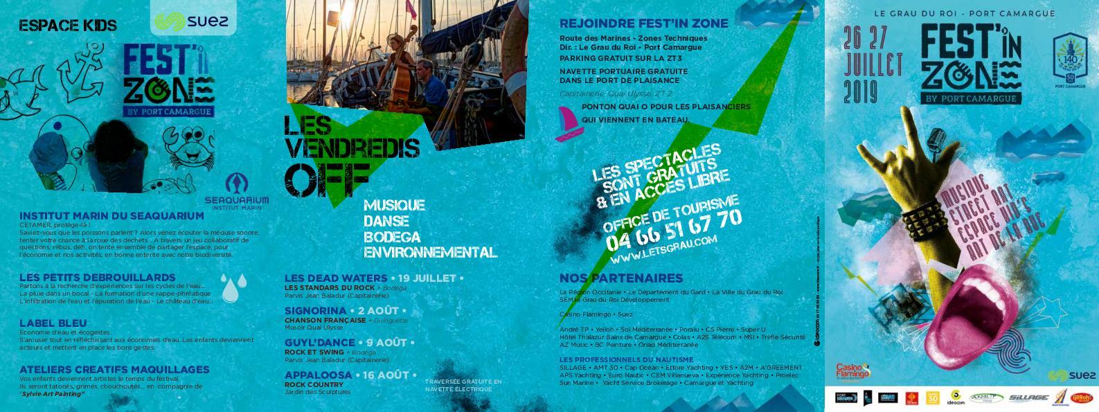 Calaméo - Programme Fest\'in Zone - édition 2019