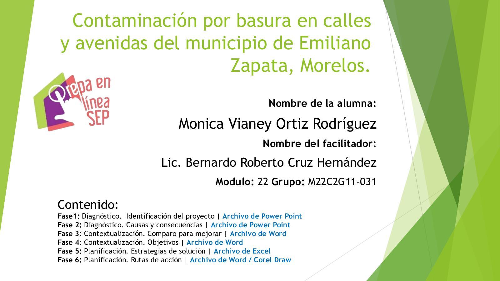Calaméo Ortiz Rodriguez Monica Vianey Proyecto Fase Final