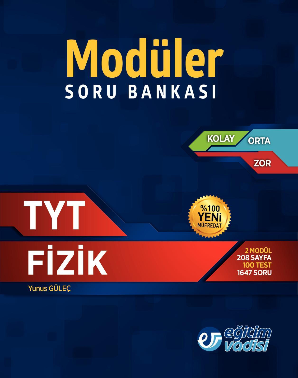 TYT Fi̇zi̇k Modüler Soru Bankasi