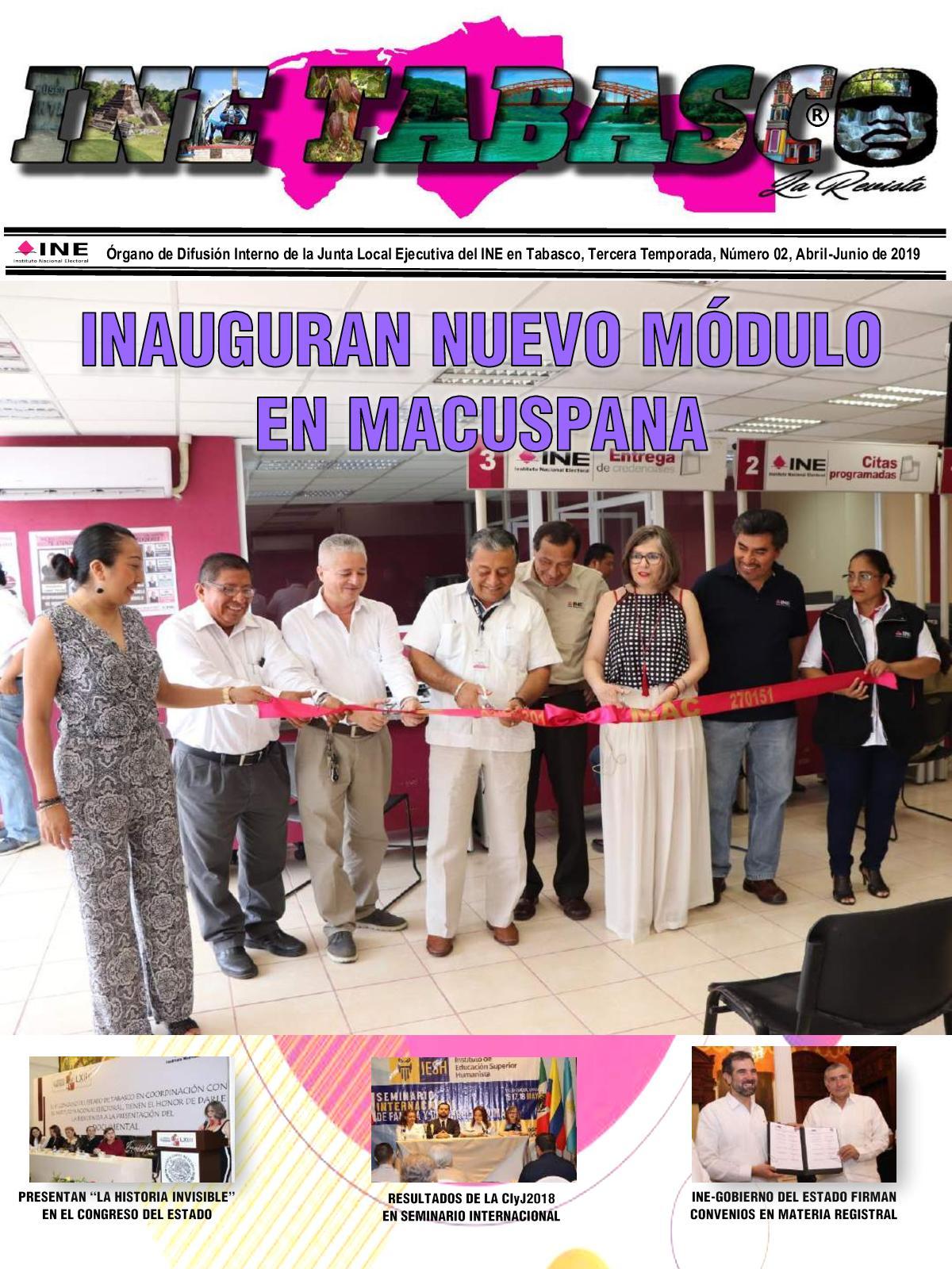 Calaméo Ine Tabasco La Revista No 02