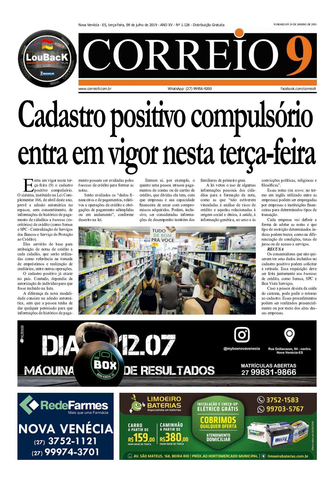 Jornal Correio9 Edição 1128