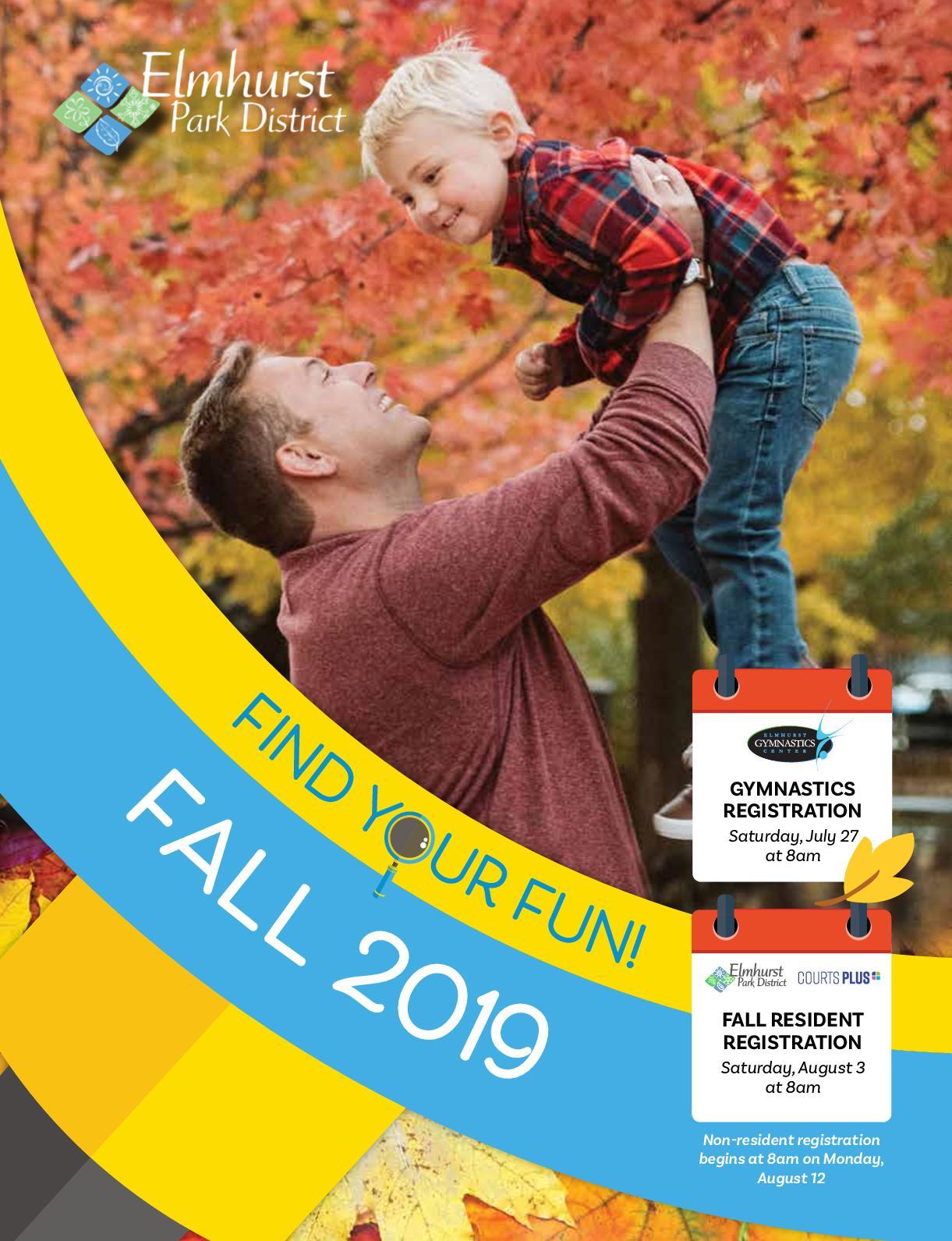 Calaméo - Elmhurst Park District Fall 2019 Brochure