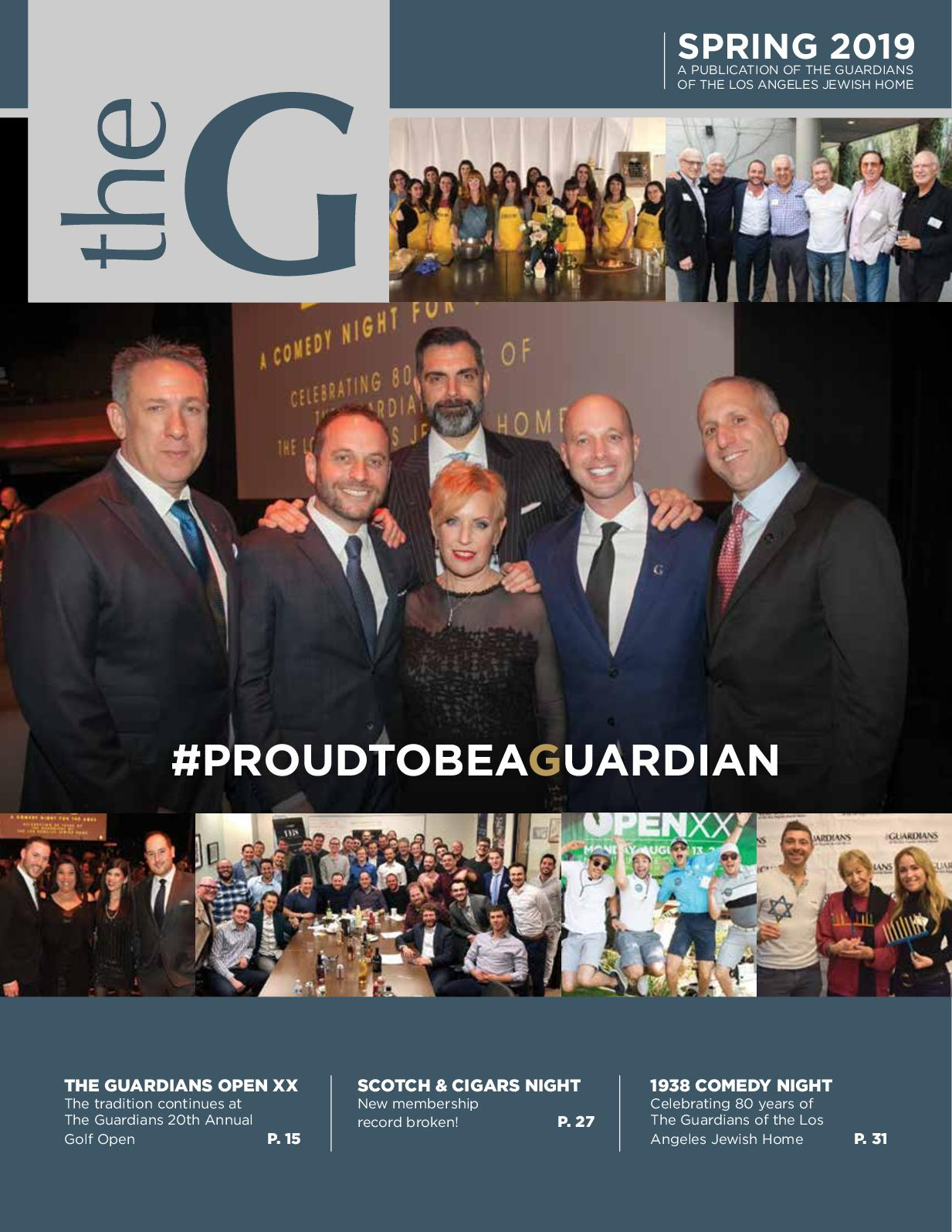 Calameo The Guardians Magazine Spring 2019