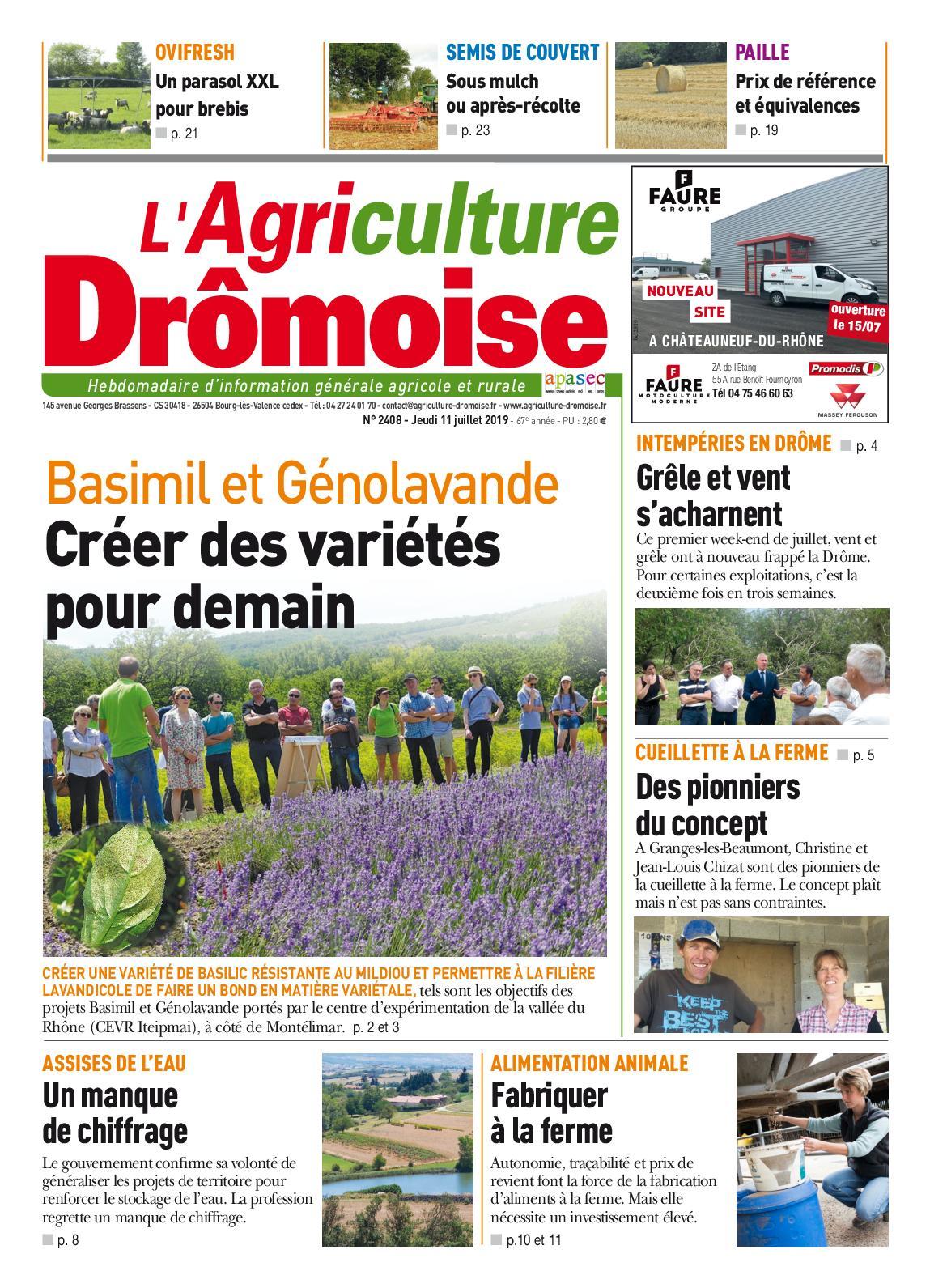 Sem28 Agriculture Dromoise 2408 L' Calaméo nkwP80O