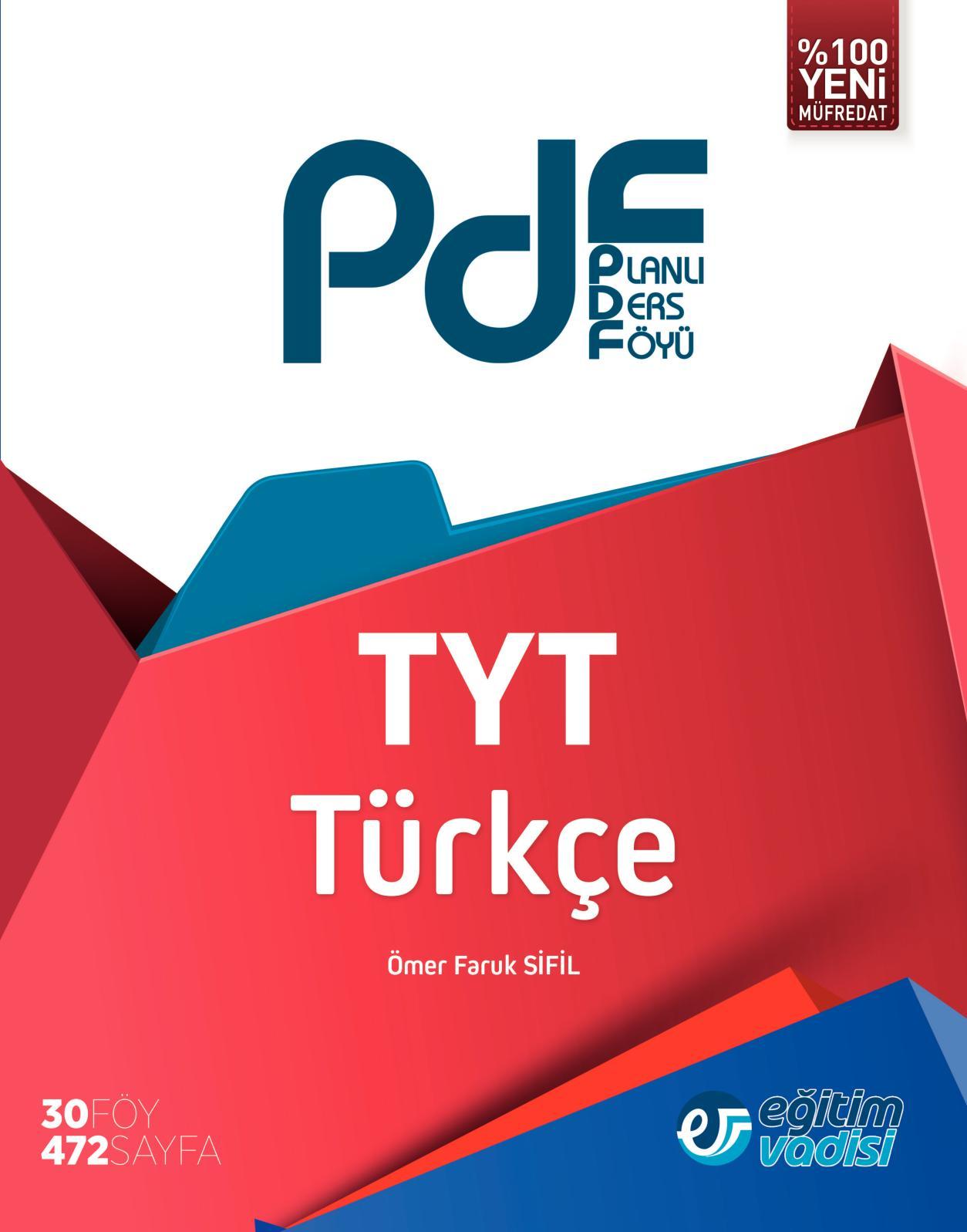 Calameo Tyt Turkce Planli Ders Foyu