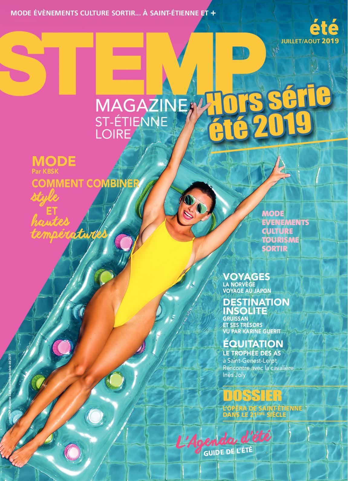 Calaméo Saint 2019 Etienne Magazine STEMP Loire été R34jL5A