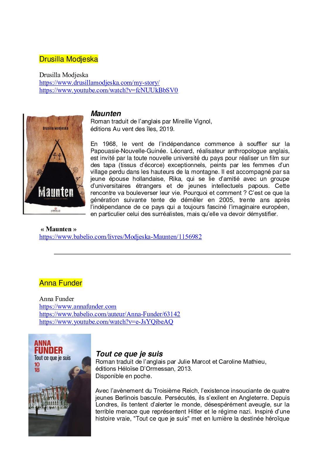 Calameo Silo 2019 Quelques Livres Des Invites Exterieurs