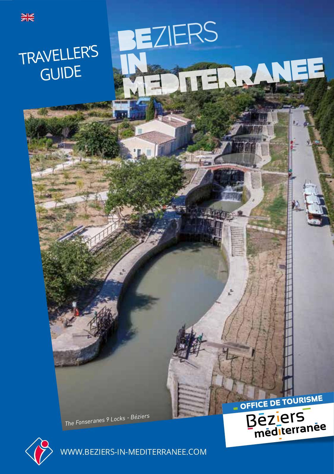 Pin Parasol Distance Maison calaméo - traveller's guide - béziers méditerranée
