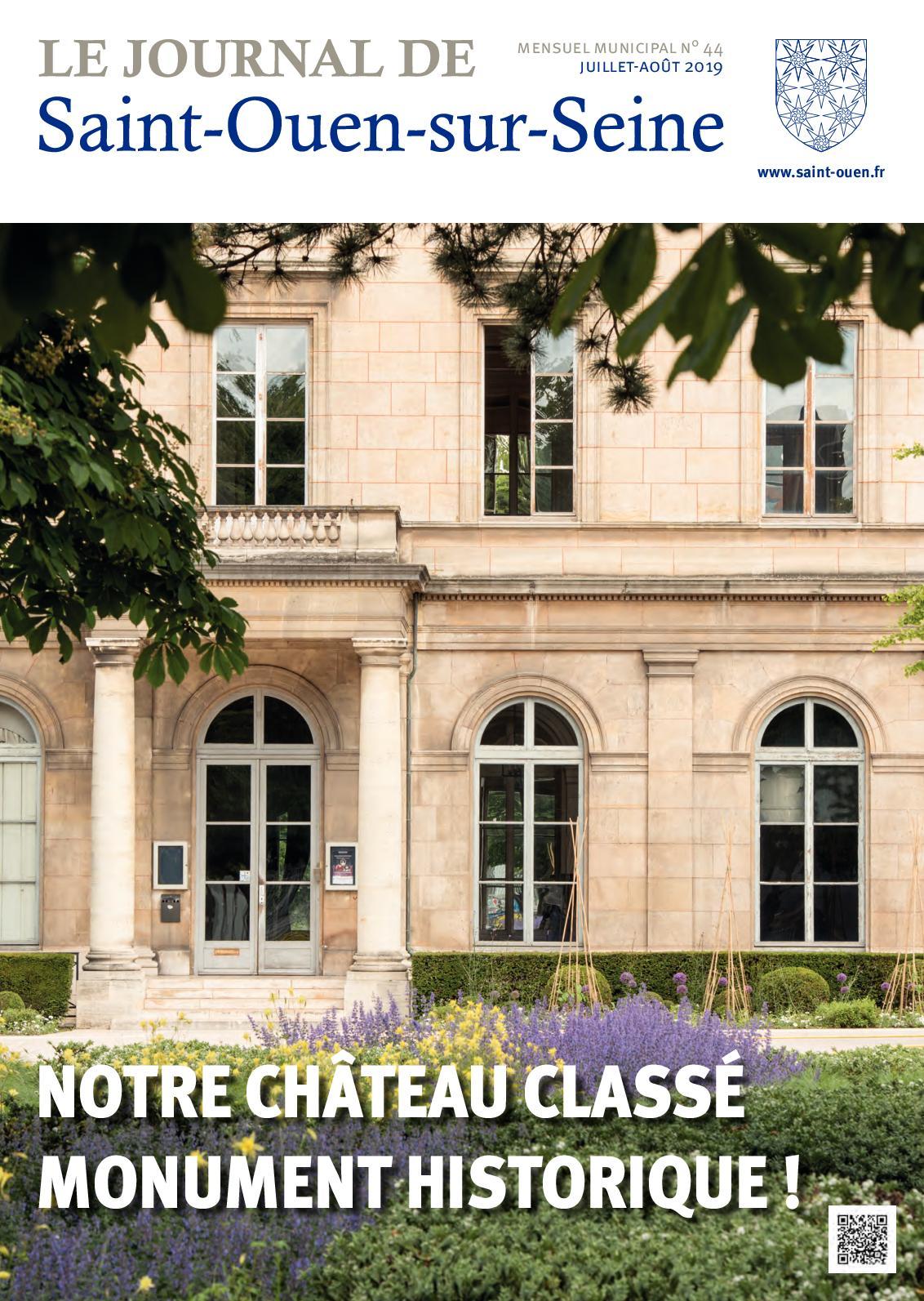 Calaméo Le Journal De Saint Ouen Sur Seine N44 été 2019