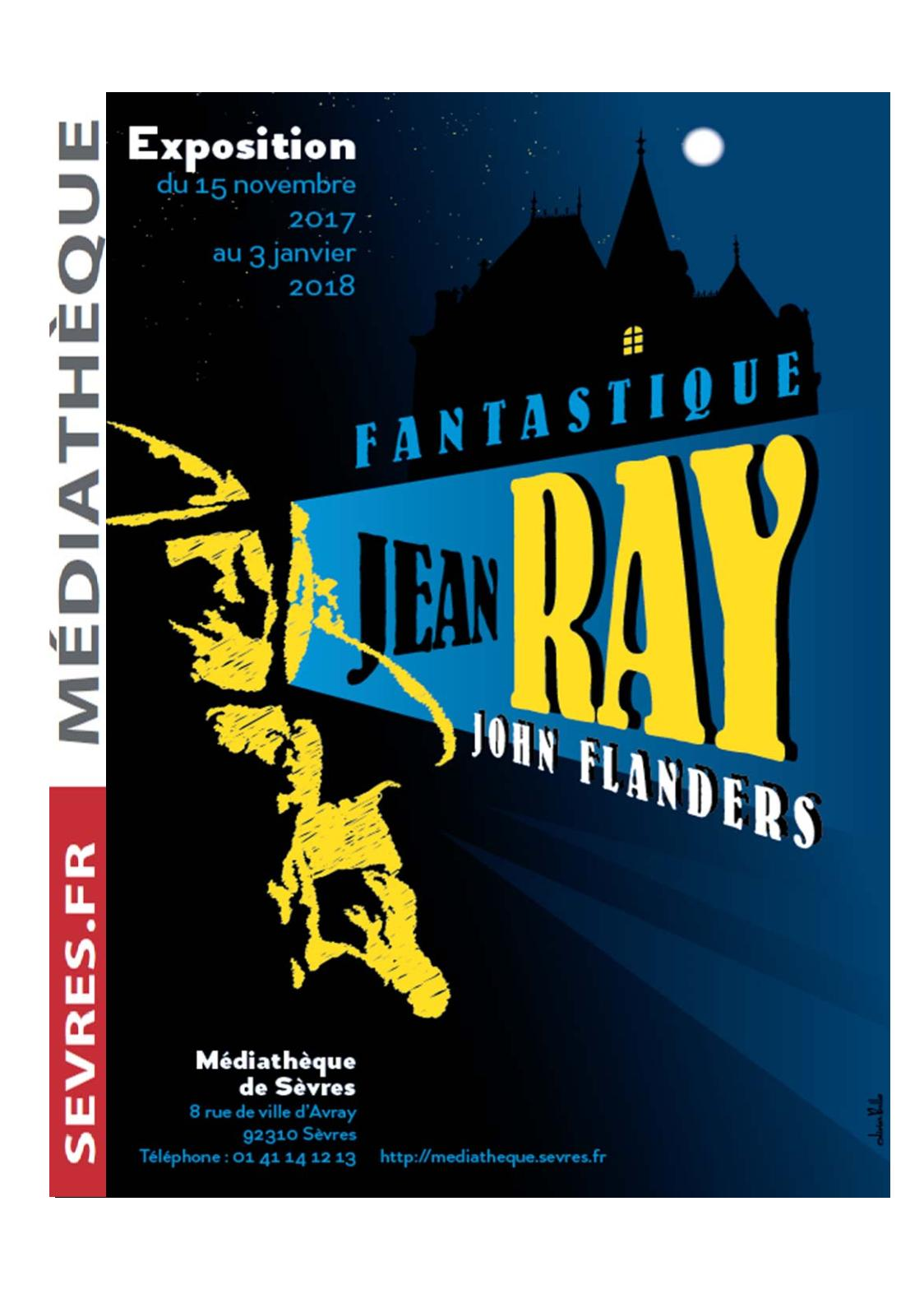 catalogue exposition Jean Ray 2017
