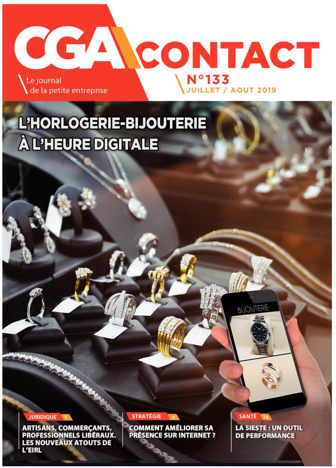 Calaméo Cga Contact N 133 Juillet Août 2019