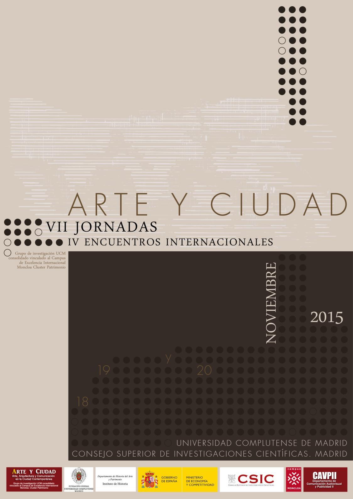 Calameo Vii Jornadas Arte Y Ciudad Iv Encuentros