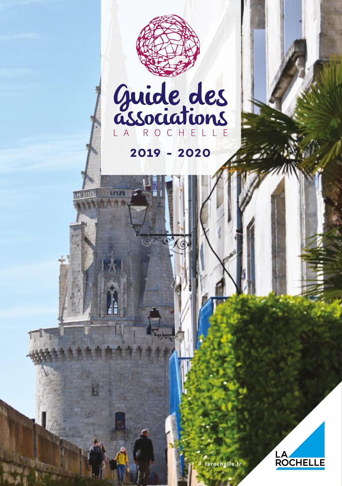 Calendrier Des Marees La Rochelle 2020.Calameo Guide Des Associations 2019 2020