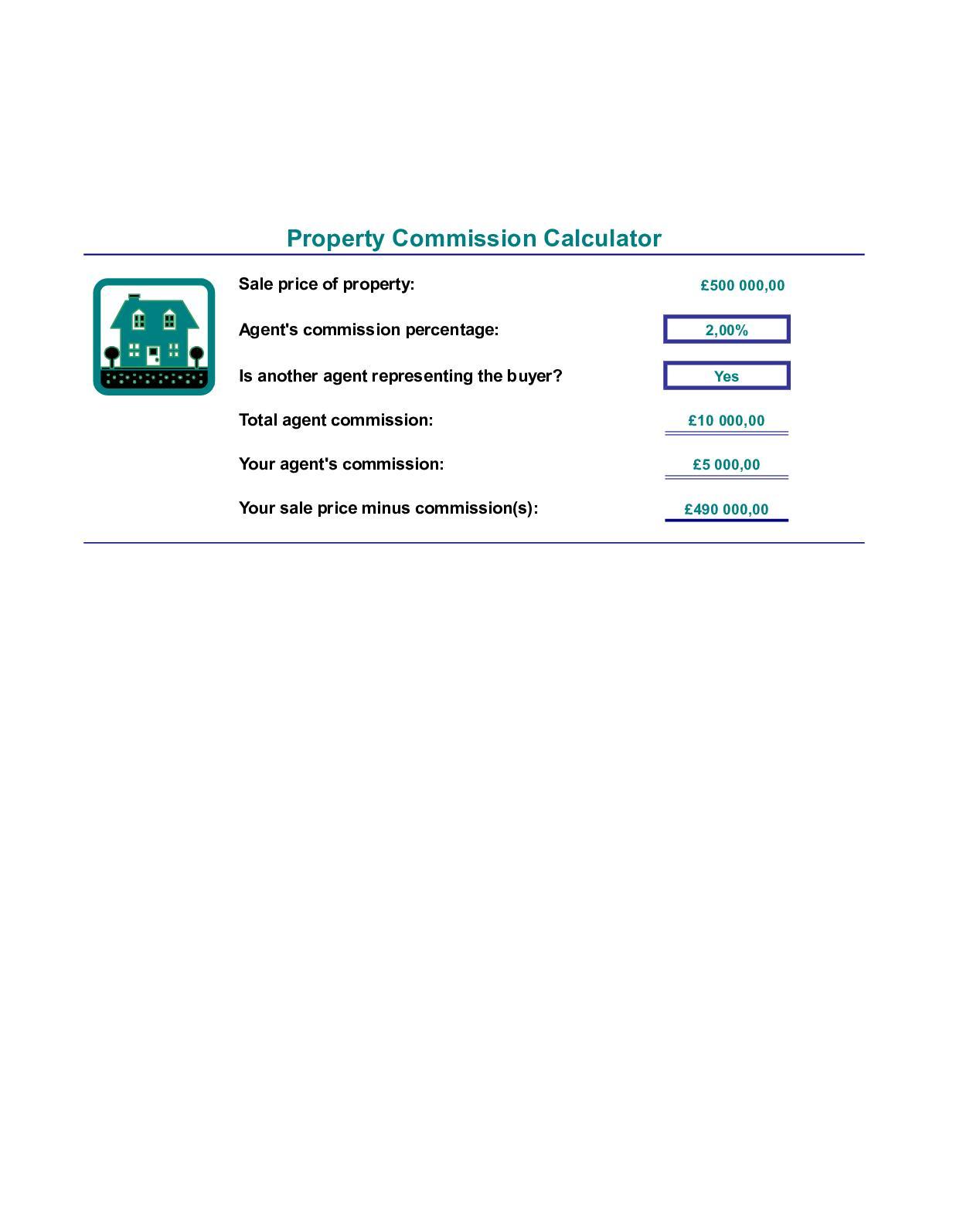 Calameo Real Estate Commission Calculator1