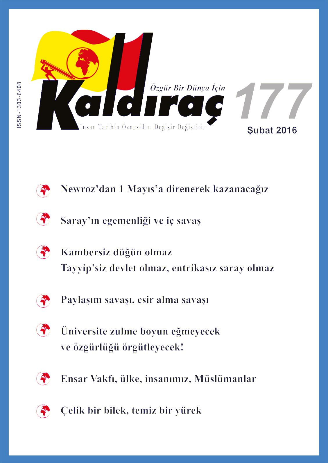 Calameo Kaldirac 177 Sayi Nisan 2016