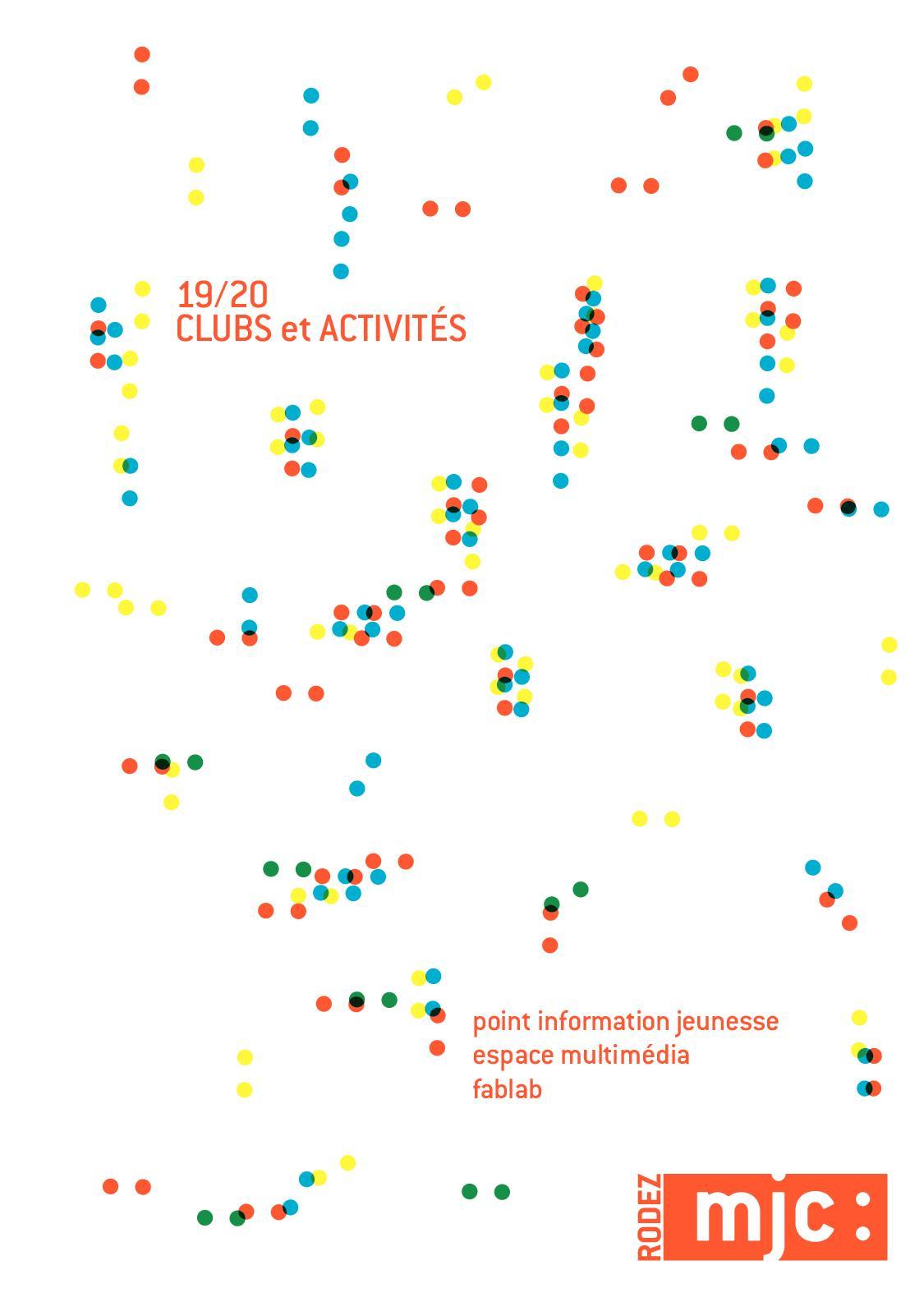 Calaméo Mjc Rodez Clubs Et Activités 19 20