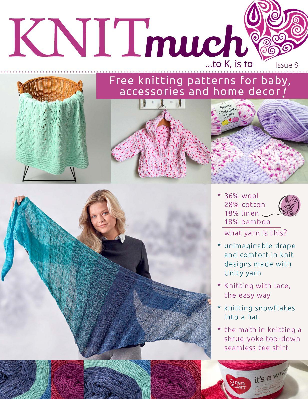 Large DIY Knitting Blanket Kit Soft Chunky Thick and Thin Bulky Yarn US 15 Needles Dark Purple