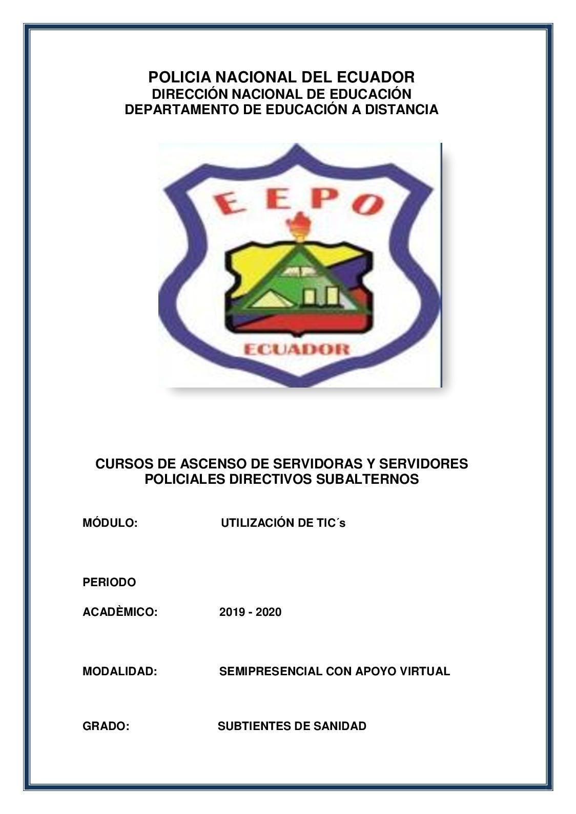 Calaméo Módulo Utilizacion Tics 2019