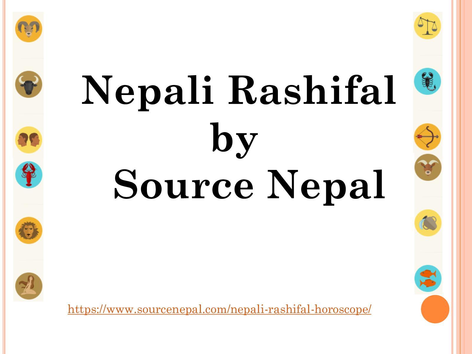 Calaméo - Nepali Rashifals