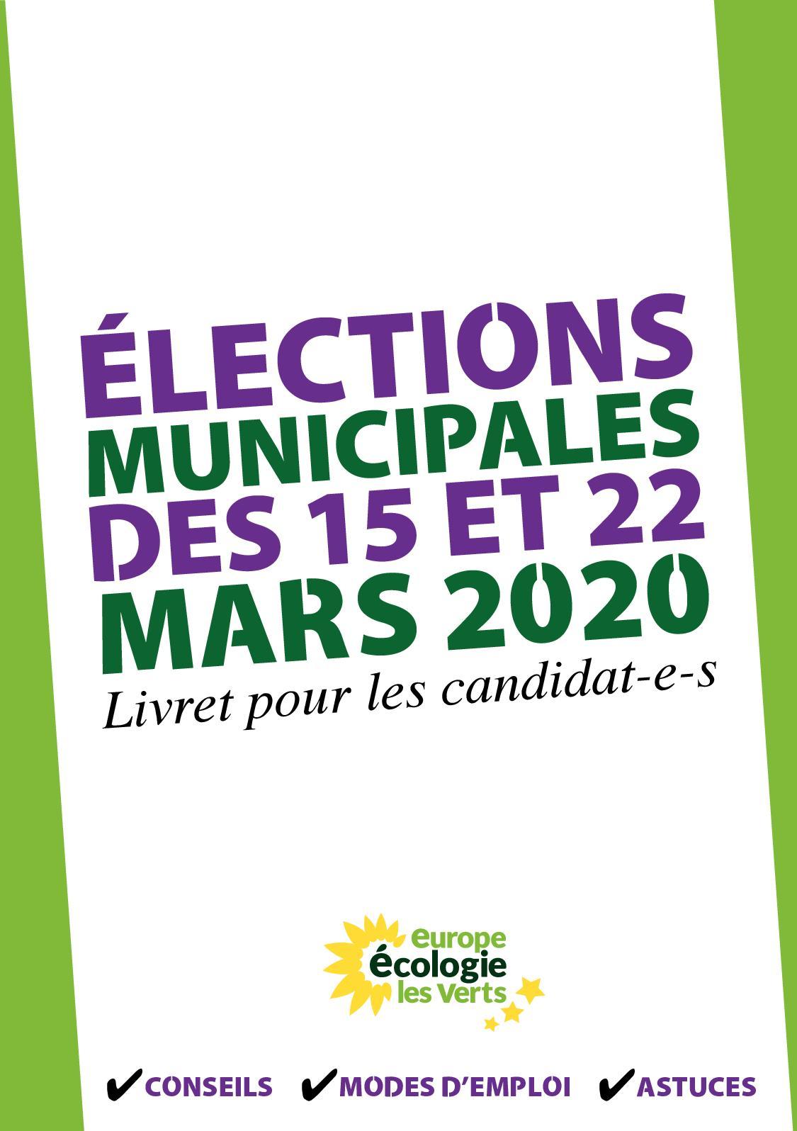 Calameo Municipales 2020 Livret Eelv