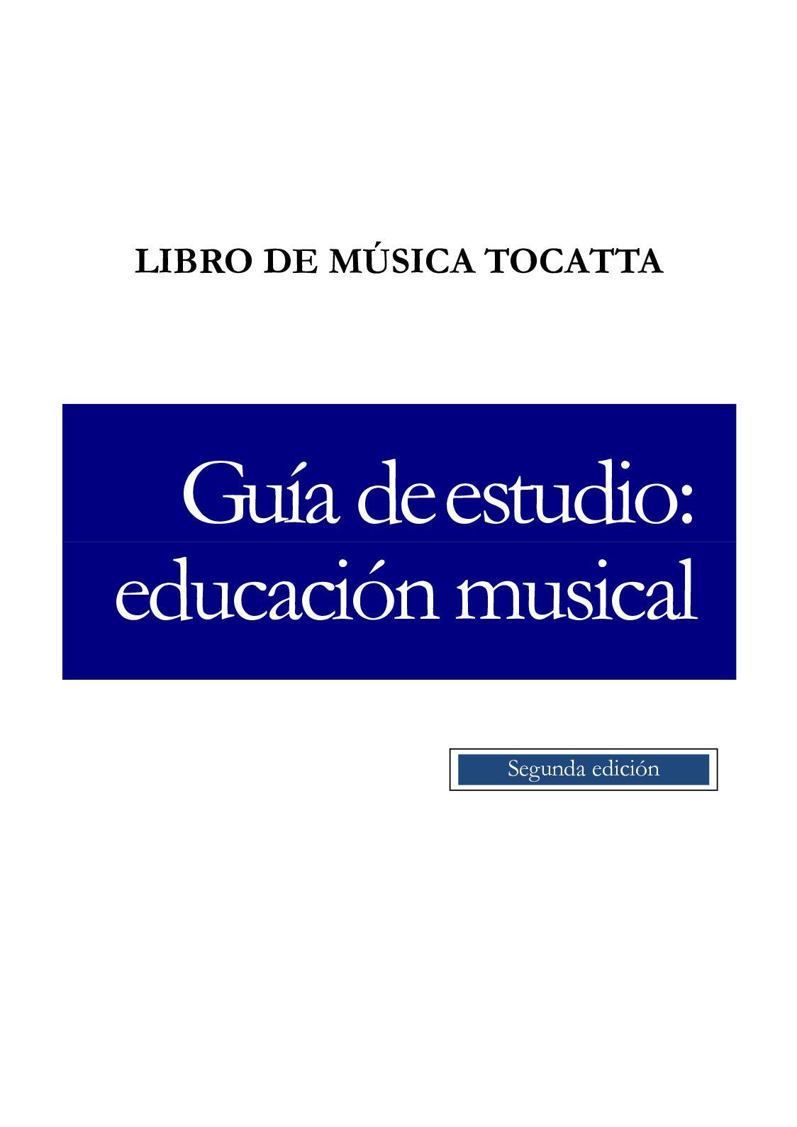 Calaméo Libro De Música Tocatta