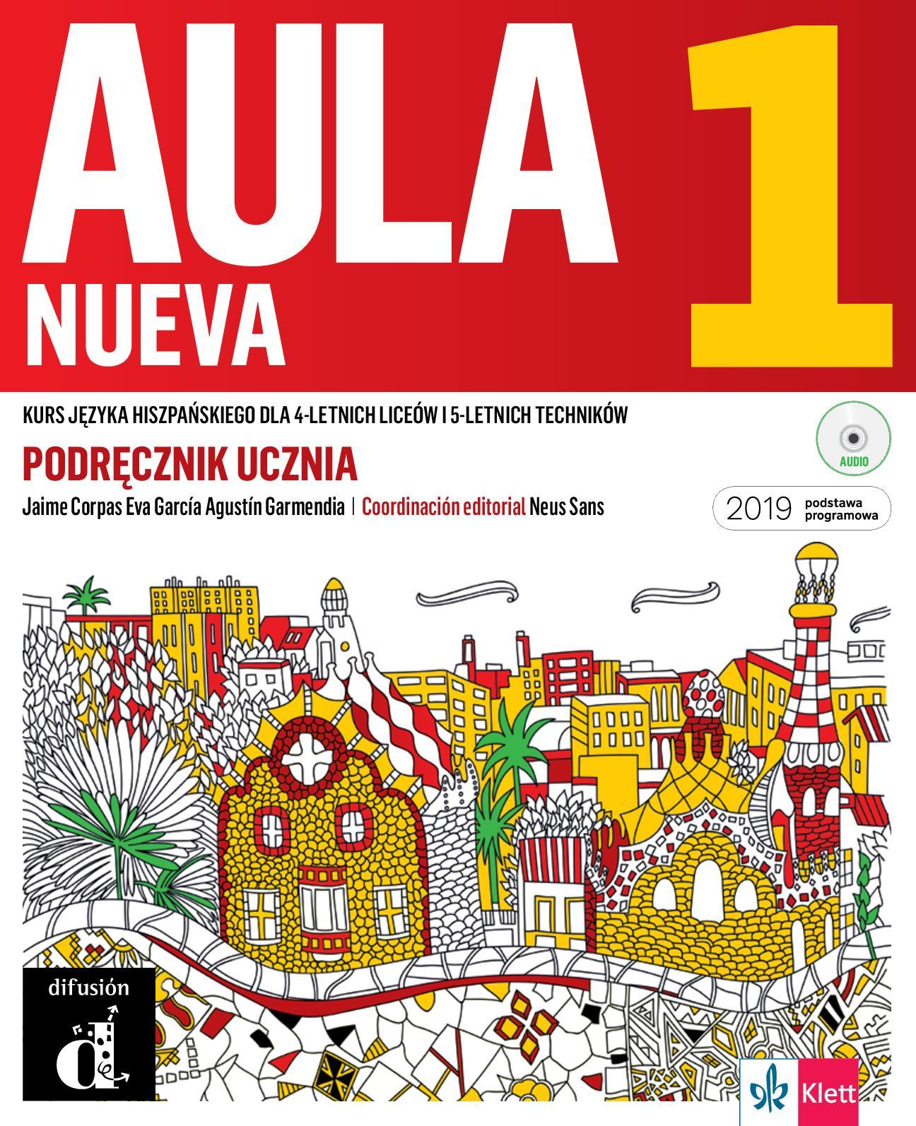 Calaméo Aula Nueva 1 Podręcznik Do Języka Hiszpańskiego