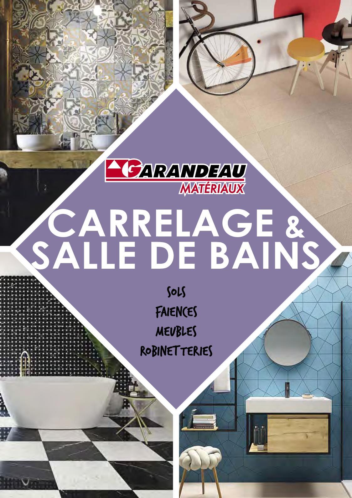 Stratifié Compressé Salle De Bain calaméo - garandeau carrelage & salle de bains 2019
