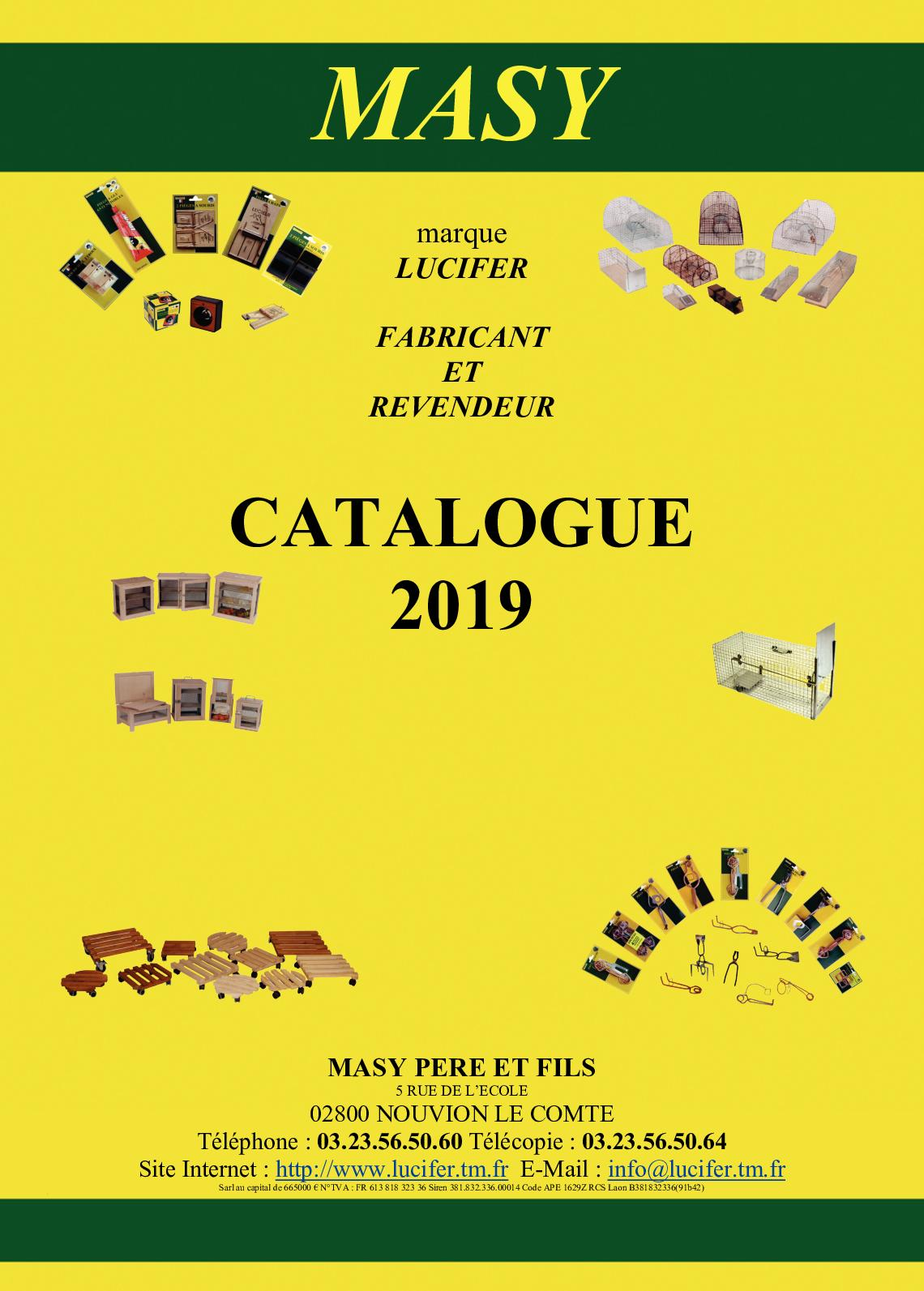 Catalogue Complet 2019