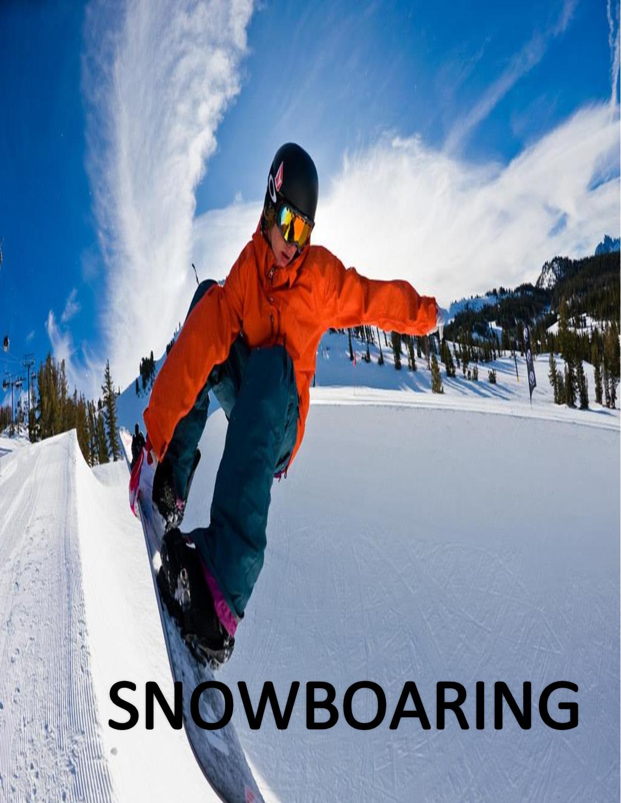 Lesiones en la cabeza por el snowboard