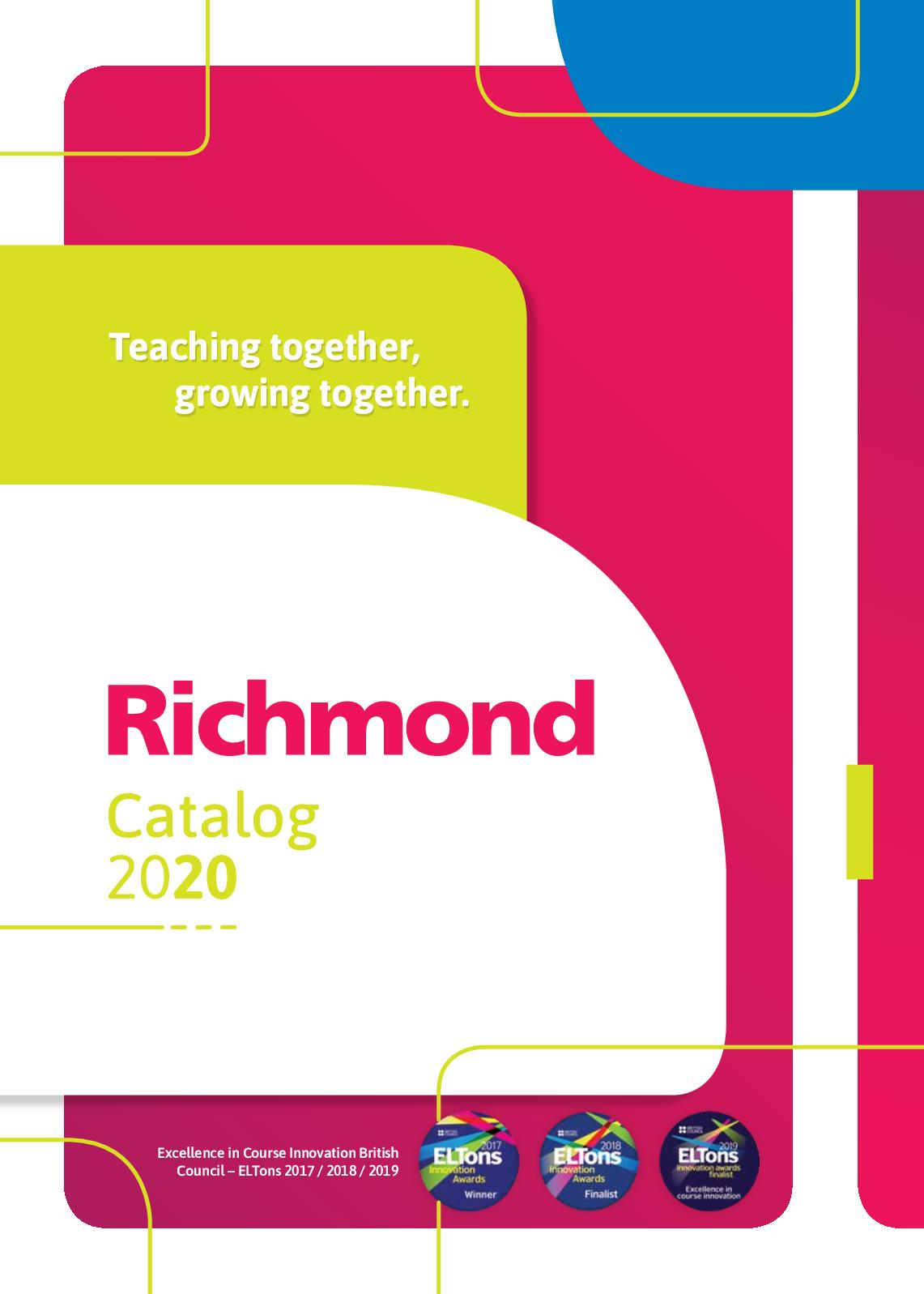 Calaméo Catalogo Richmond Didaticos 2020web