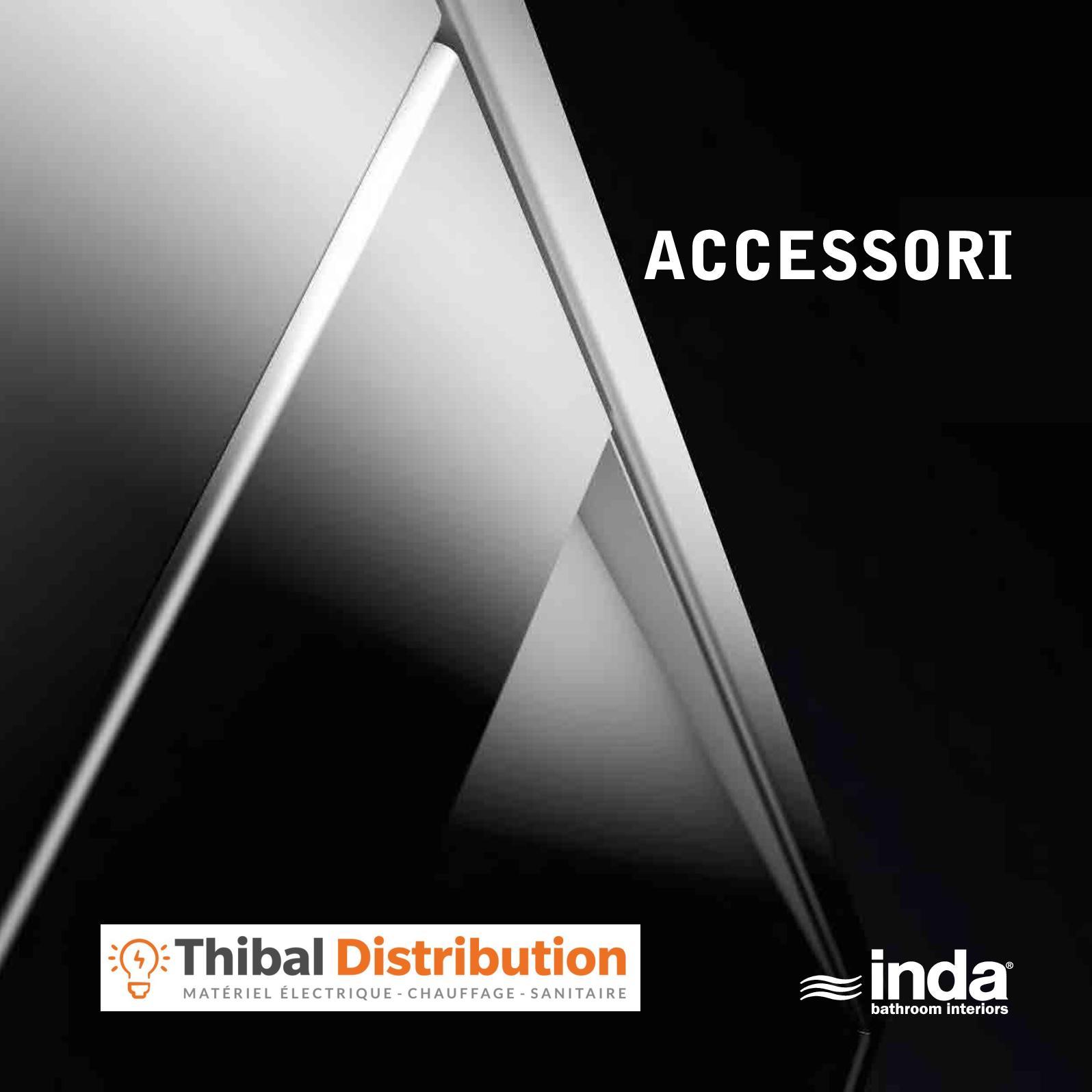 Inda Accessori Bagno Roma.Calameo Catalogue Inda Accessoires Salle De Bains 2018 By