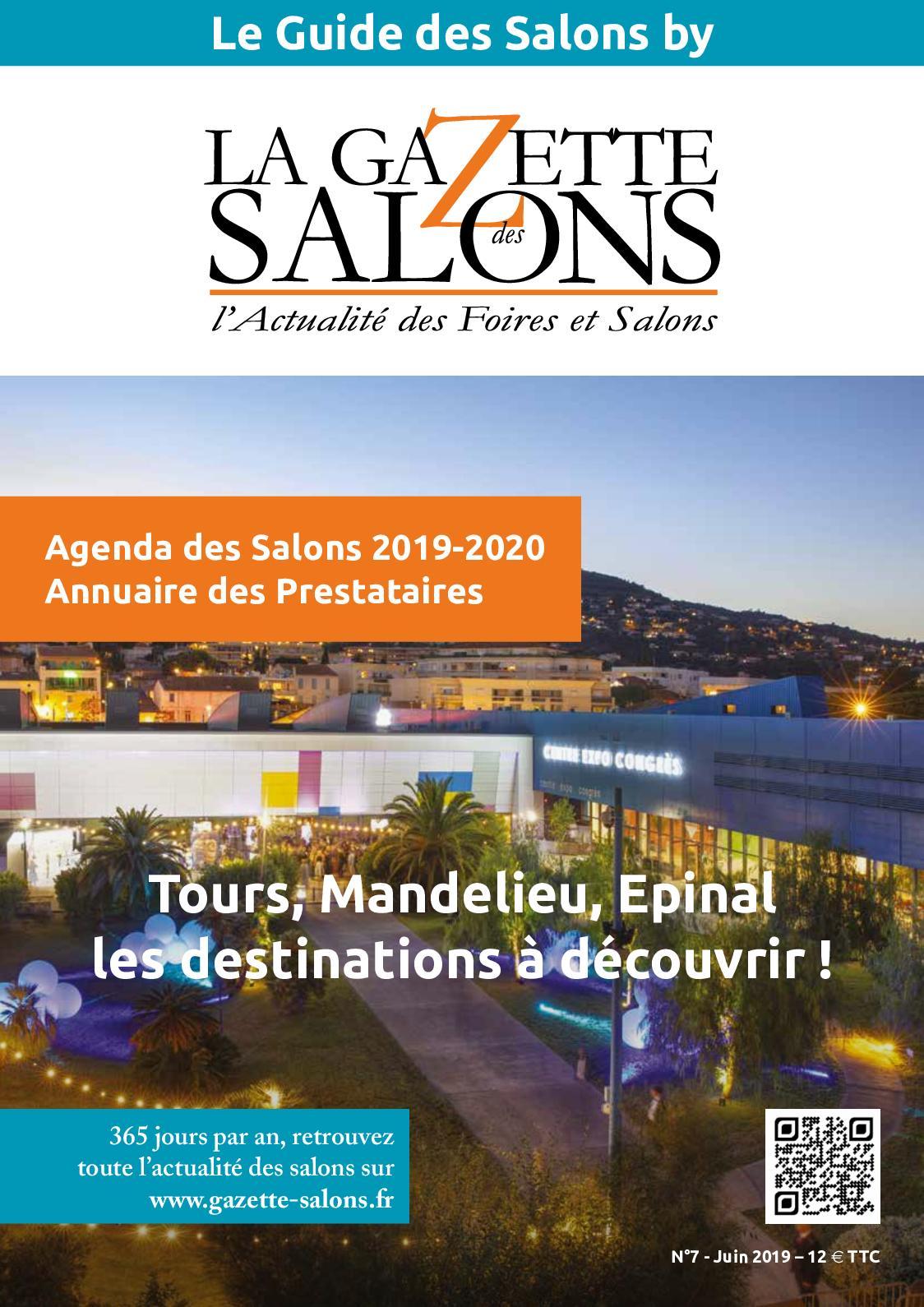 Salon Villepinte Calendrier 2020.Calameo Le Guide De La Gazette Des Salons N 7 Juin 2019