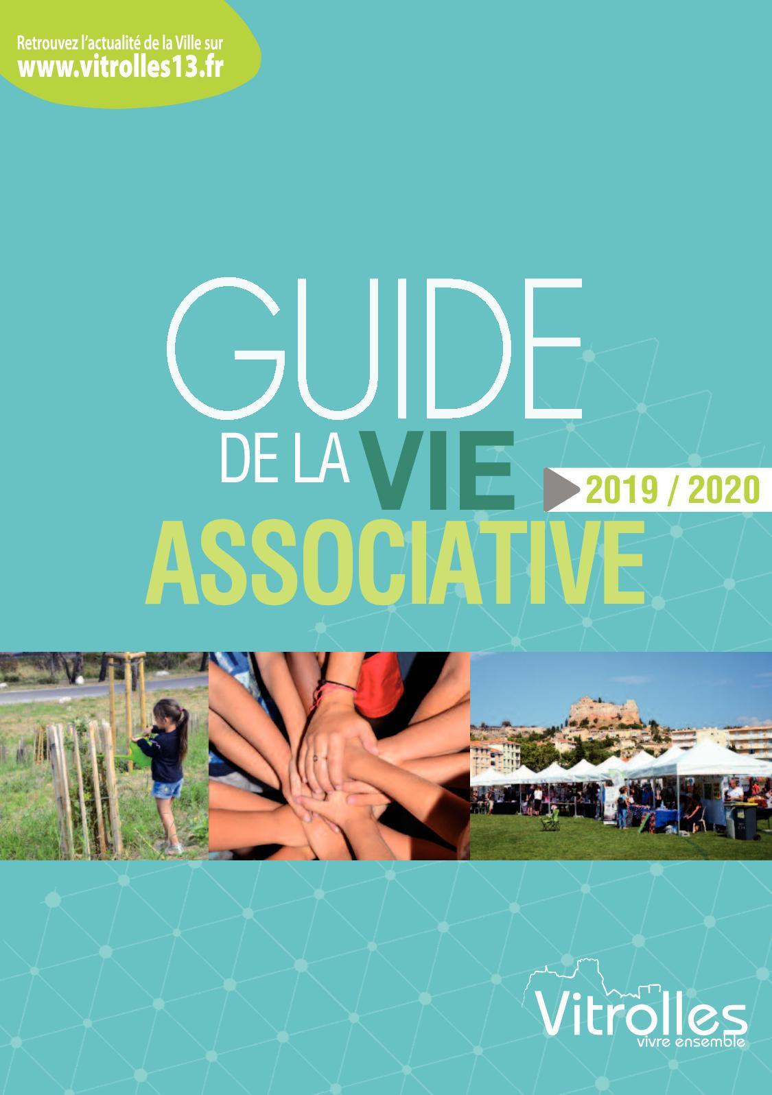 Art Plus Cadre Vitrolles calaméo - guide des associations 2019/2020