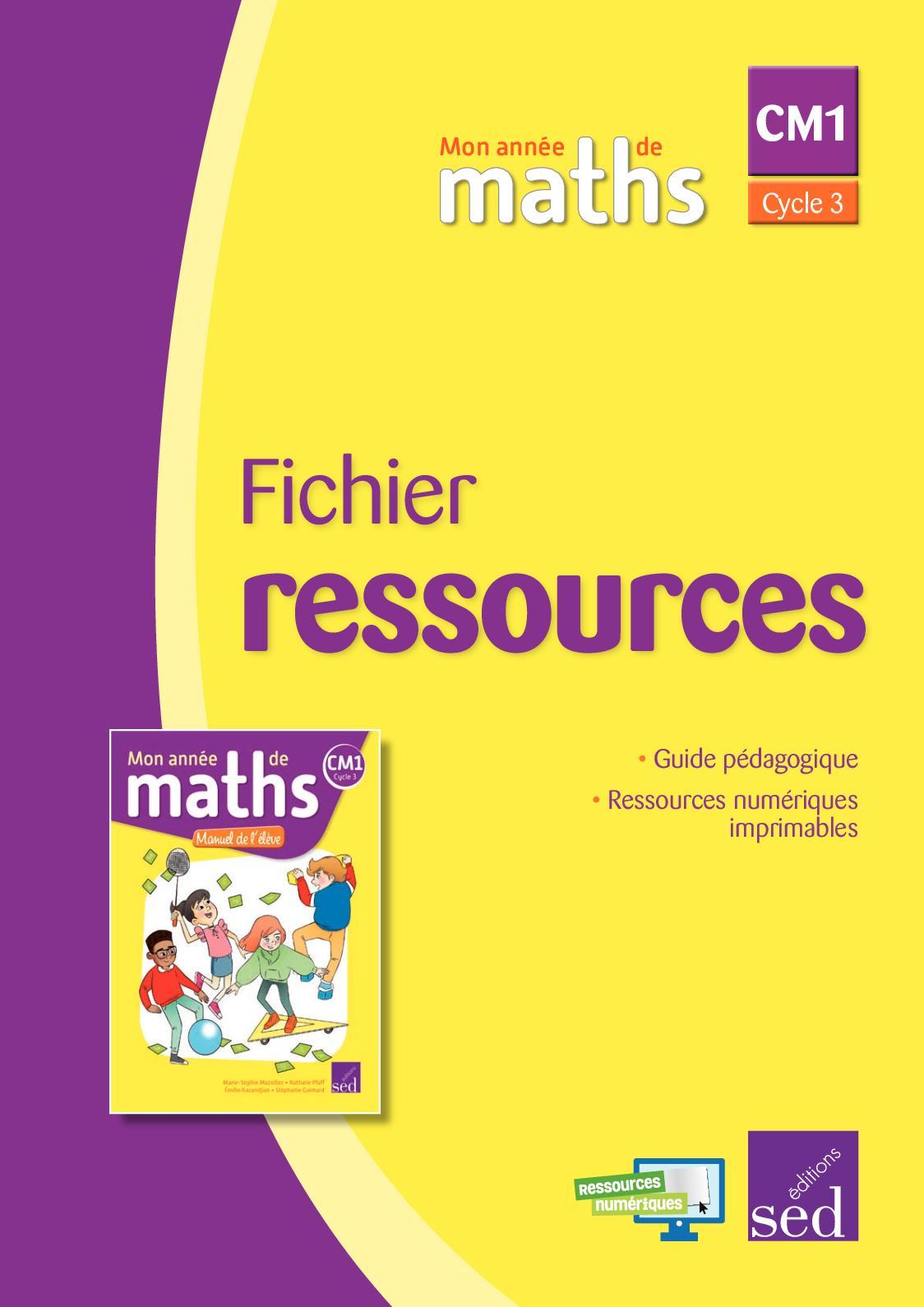 Calaméo Mon Année De Maths Ce1 Fichier Ressources