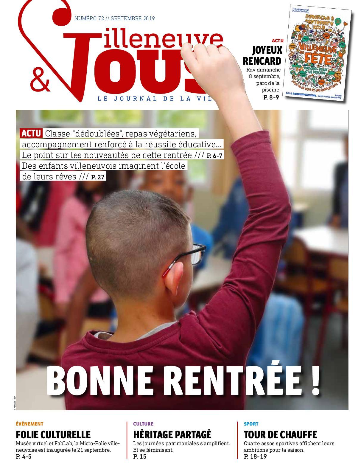 2019 Septembre Villeneuve n°72 Calaméo et vous nOXwP0k8