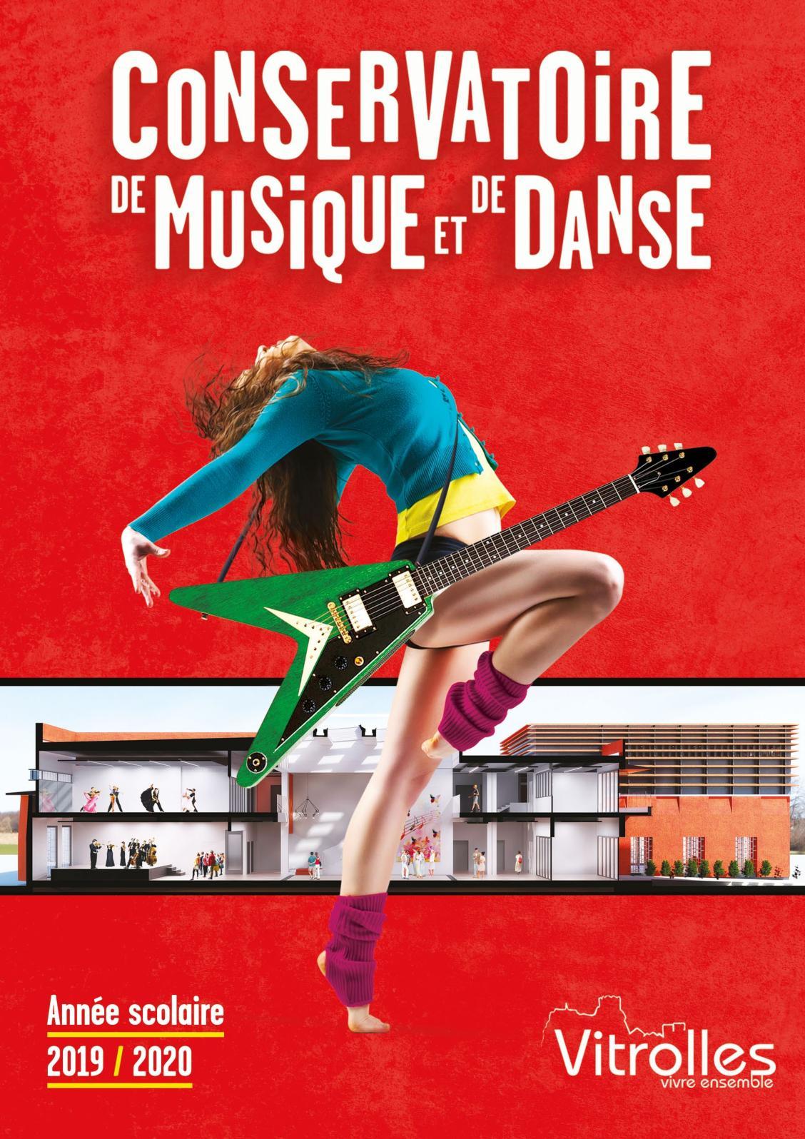 Art Plus Cadre Vitrolles calaméo - conservatoire musique danse - 2019/2020