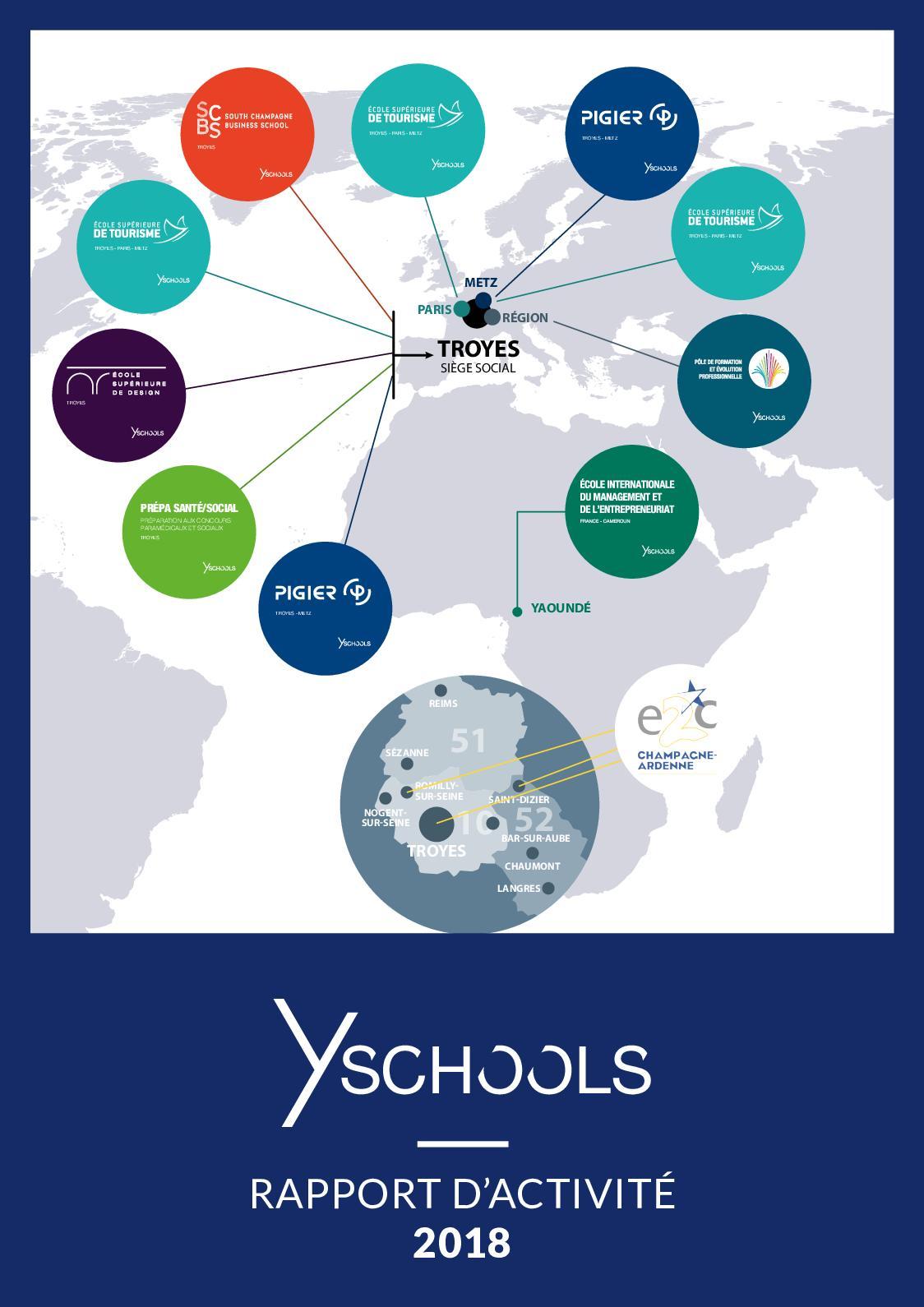 Calaméo Rapport Dactivité 2018 Y Schools