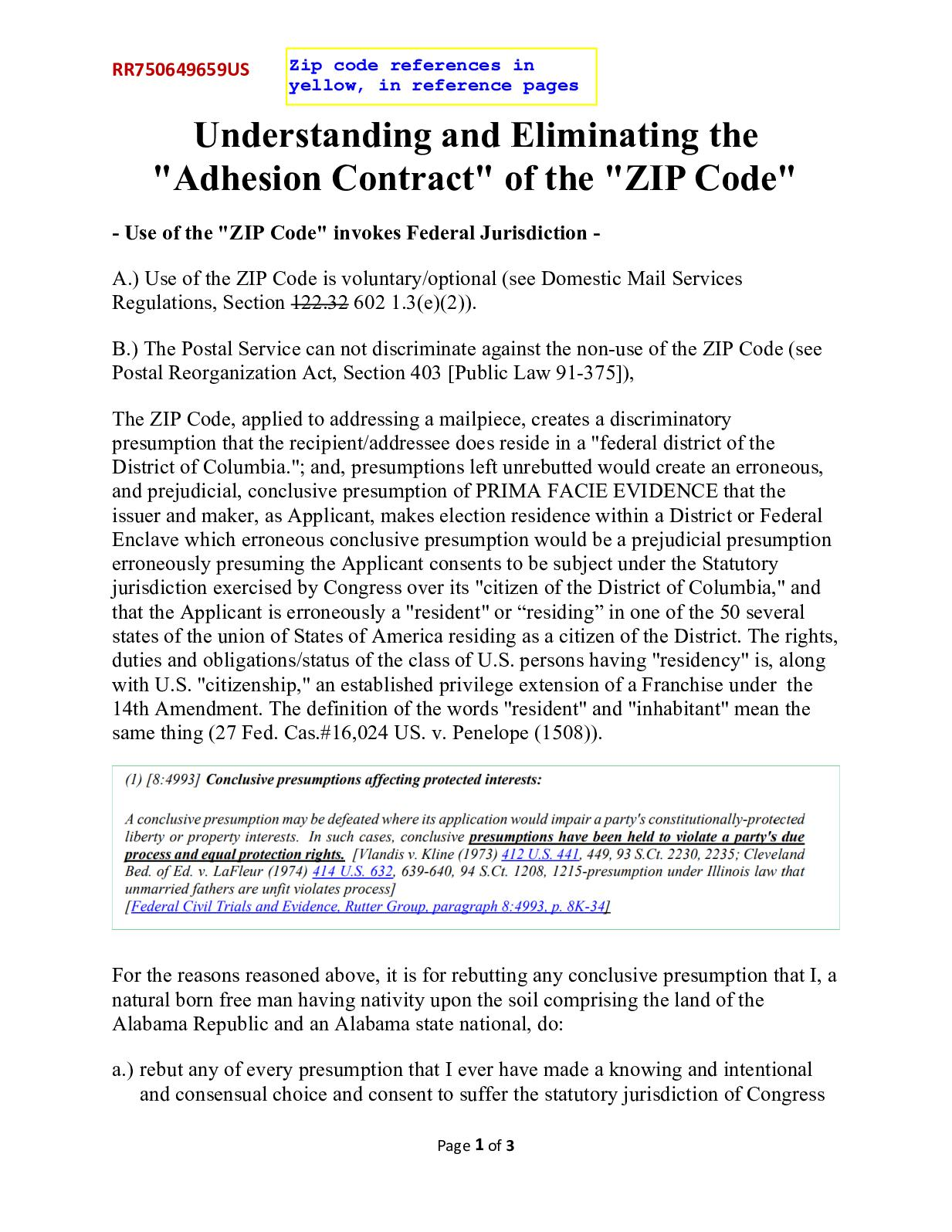 Calam O Understanding And Eliminating The Zip Code