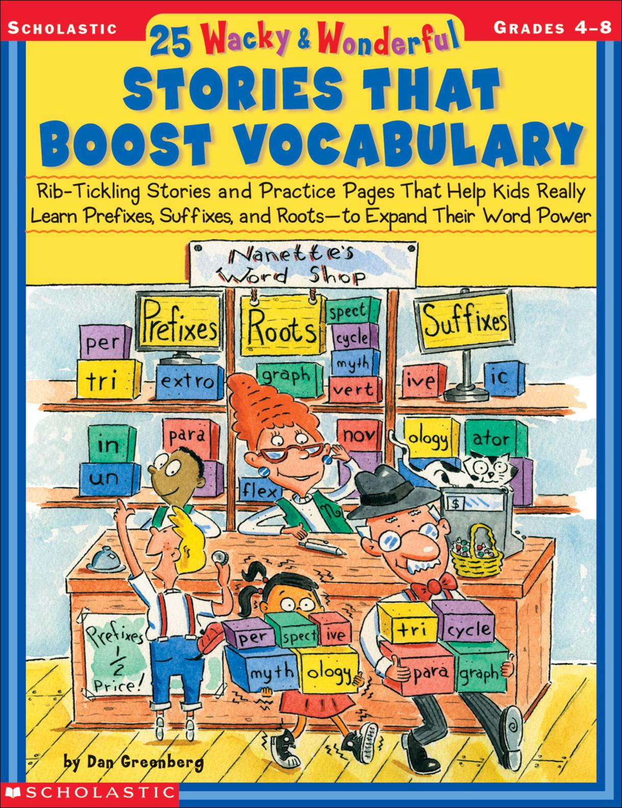 Calameo 25 Wacky And Wonderful Stories That Boost Vocabulary