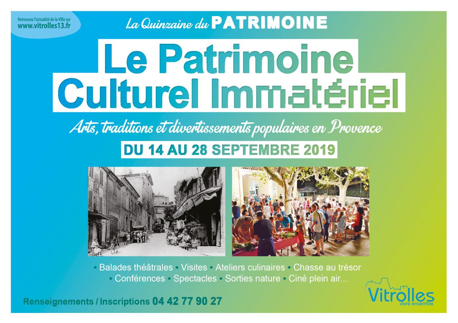 Art Plus Cadre Vitrolles calaméo - quinzaine du patrimoine 2019