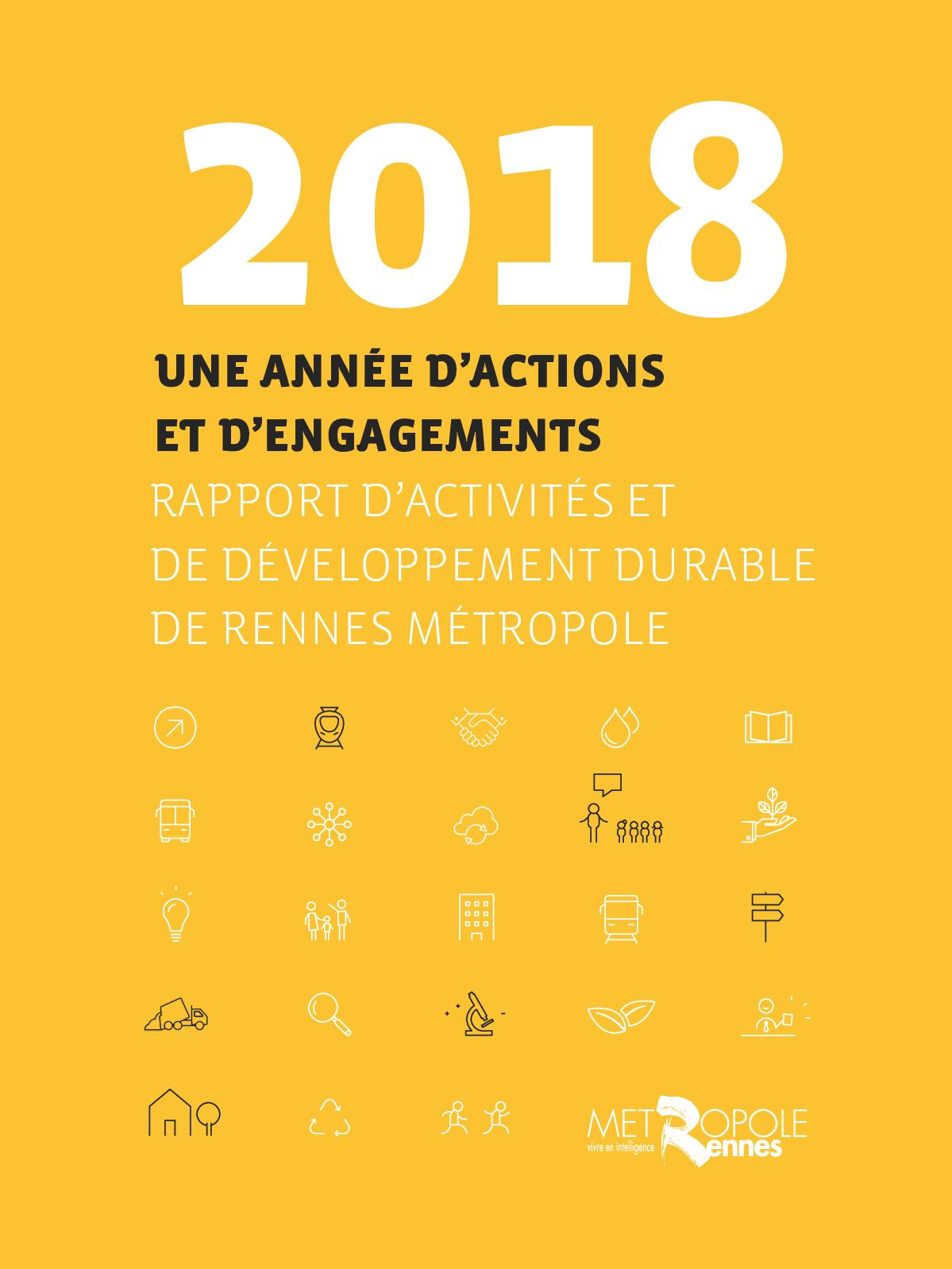 Calaméo Rennes Metropole Rapport Dactivités Et De