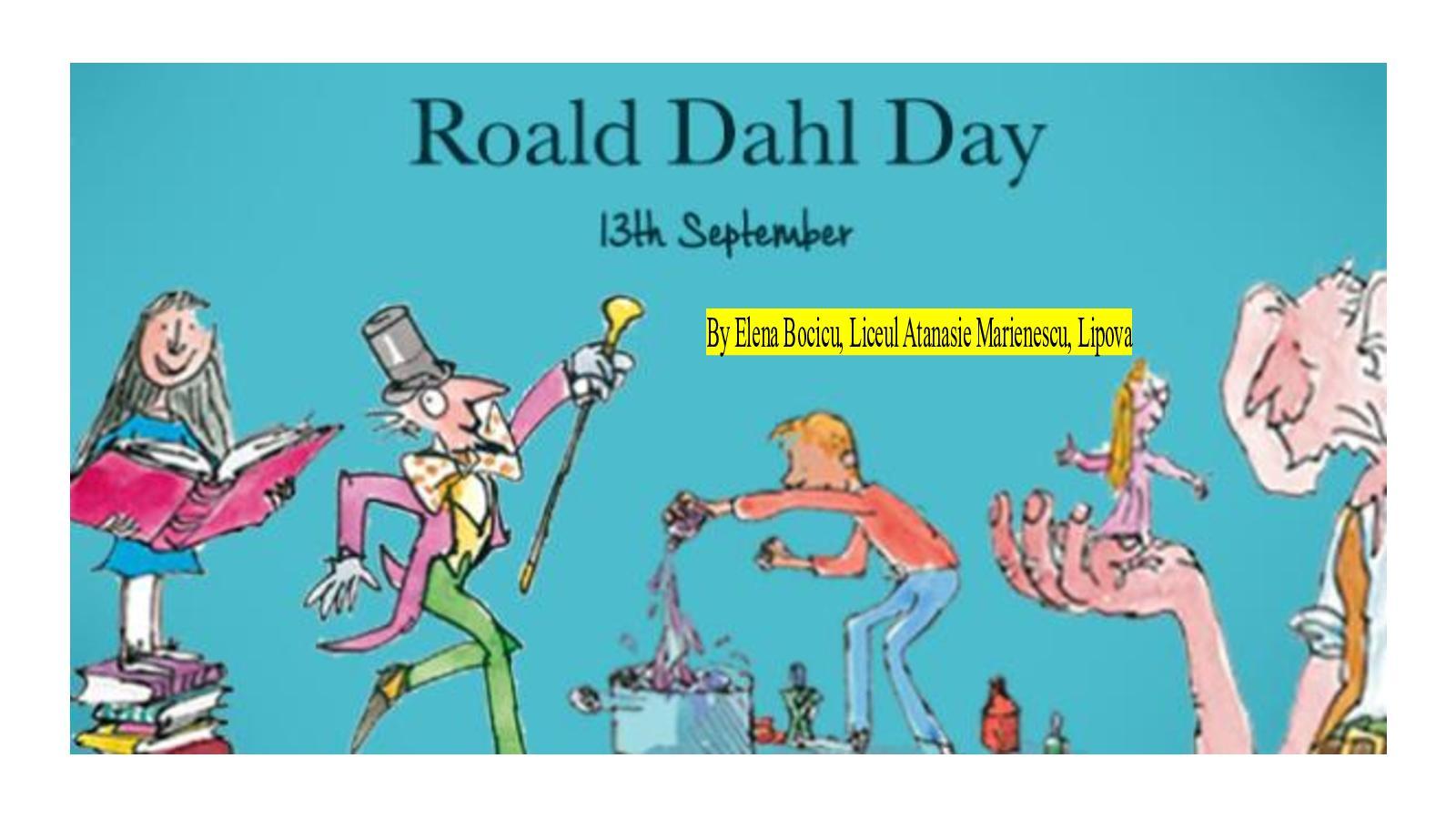 Calaméo Roald Dahl Day 2019 By Elena Bocicu