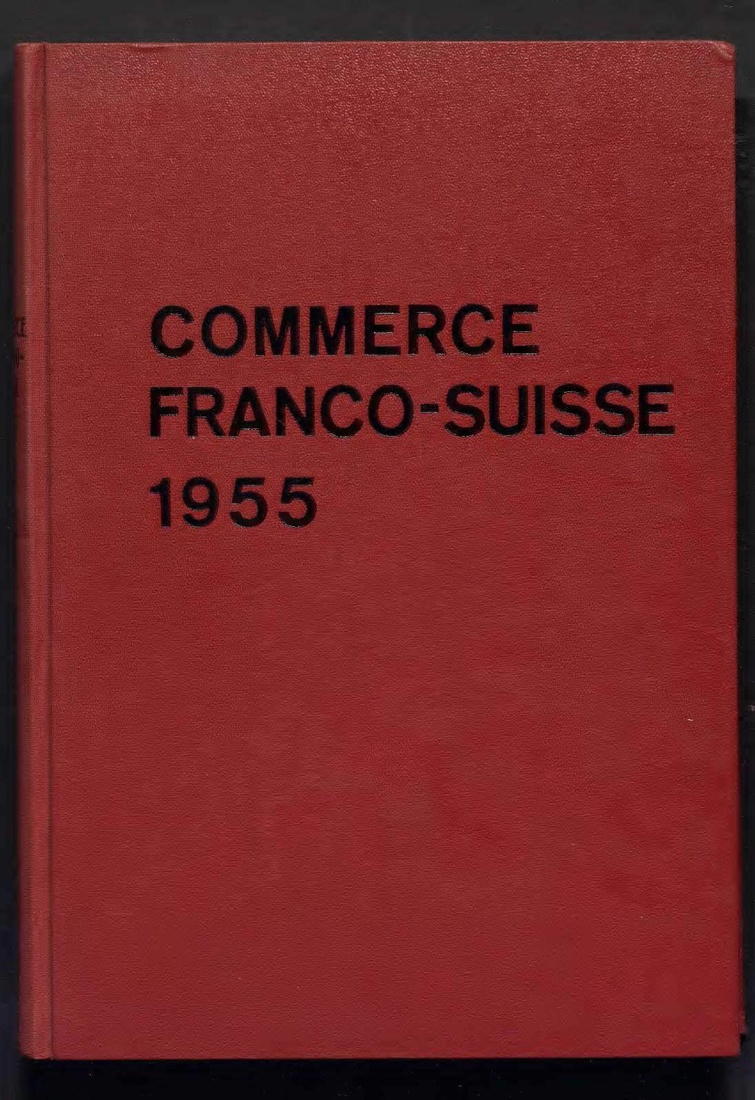foto de Calaméo - Revue Mensuelle De 1955 - CCIFS Archives