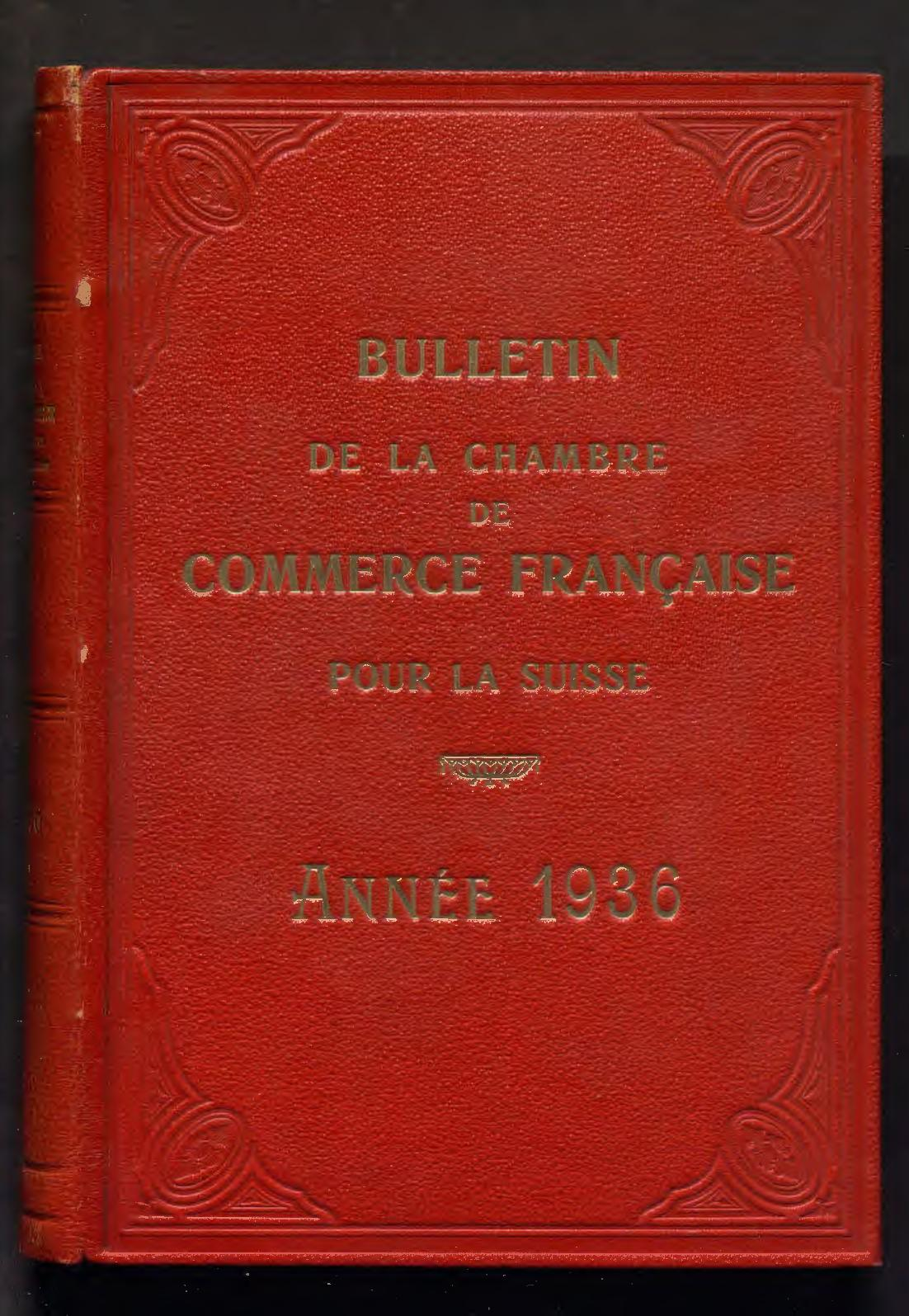 foto de Calaméo - Bulletin Mensuel De 1936 - CCIFS Archives