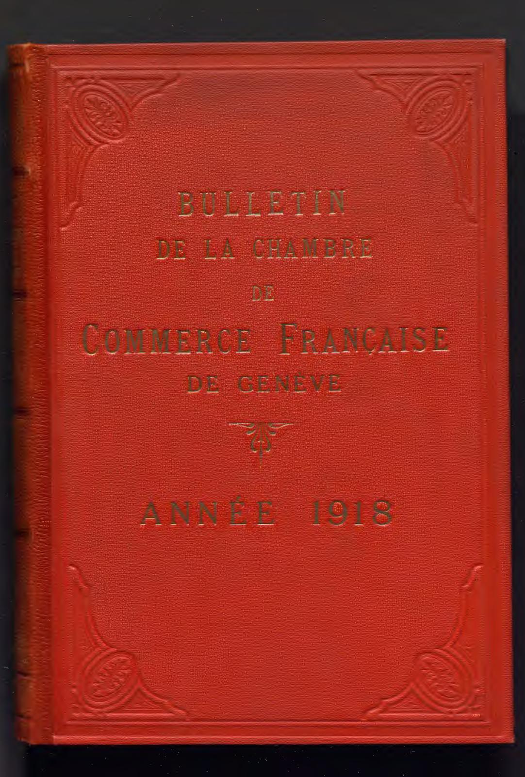 Calaméo Bulletin Mensuel De 1918 Ccifs Archives