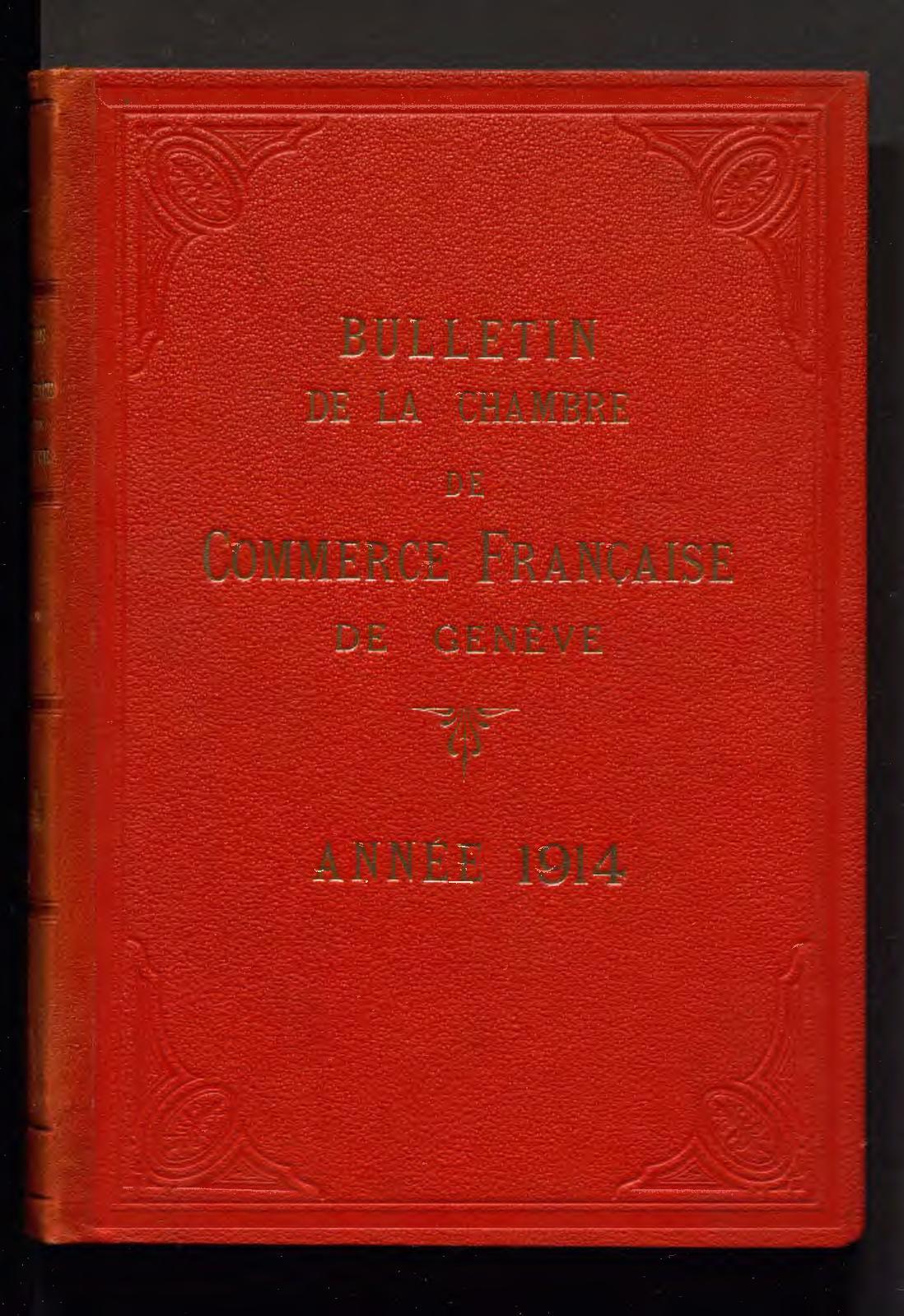 Calaméo Bulletin Mensuel De 1914 Ccifs Archives
