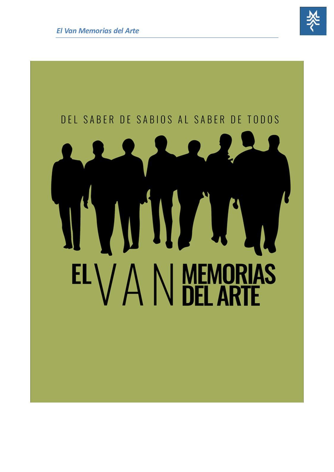 El Van Memorias del Arte