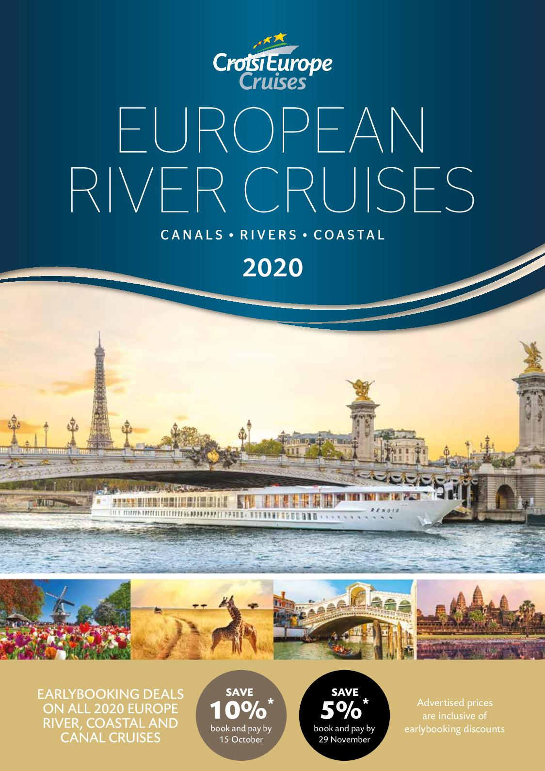 European River Cruises >> Calameo Croisi Europe 2020 European River Cruises Earlybird Ii
