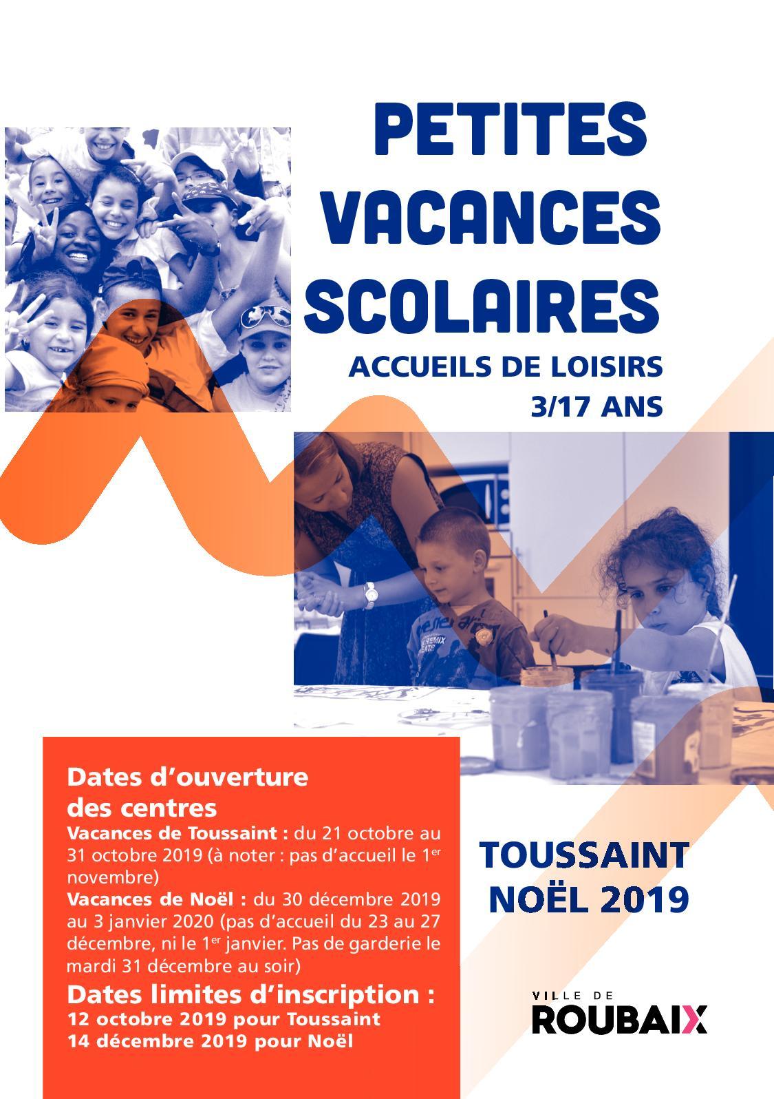 Calam o petites vacances scolaires toussaint no l 2019 - Les vacances de la toussaint 2020 ...