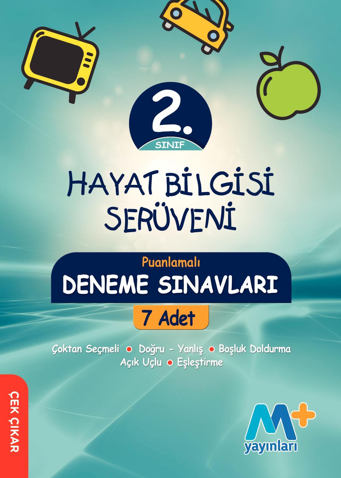 2. Sınıf Hayat Bilgisi Deneme Kitabı Serüven Seti